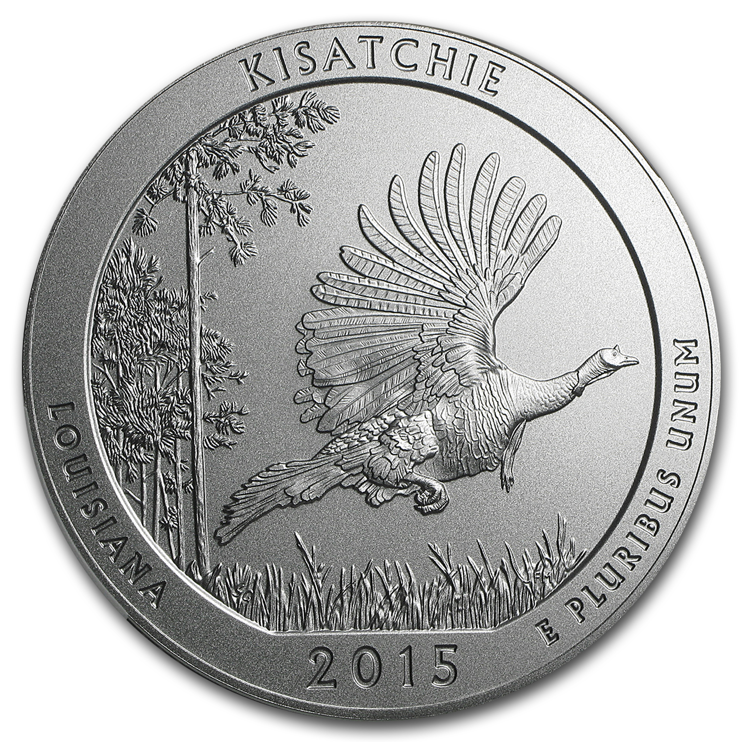2015-P 5 oz Silver ATB Kisatchie SP-70 NGC (Early Release)