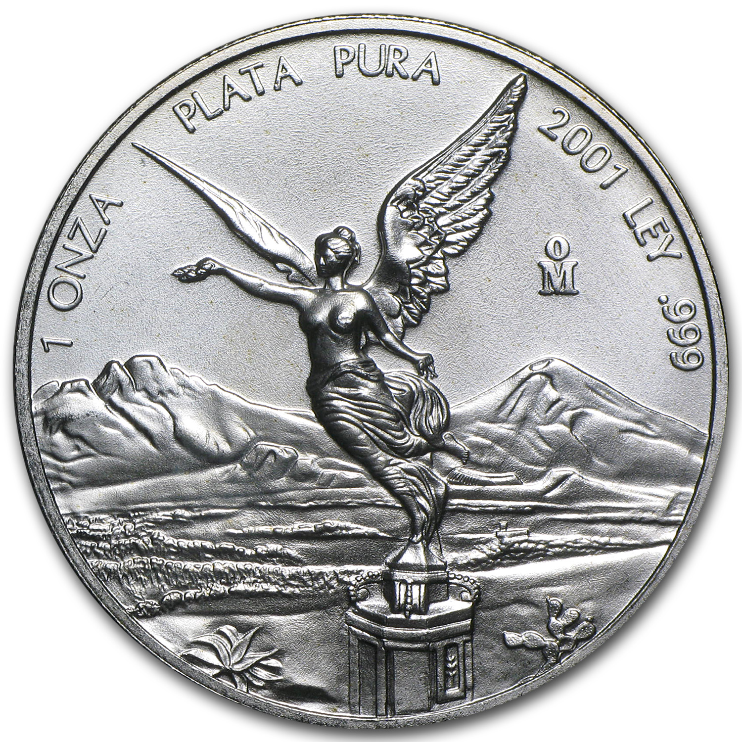 2001 1 oz Silver Mexican Libertad (Brilliant Uncirculated)