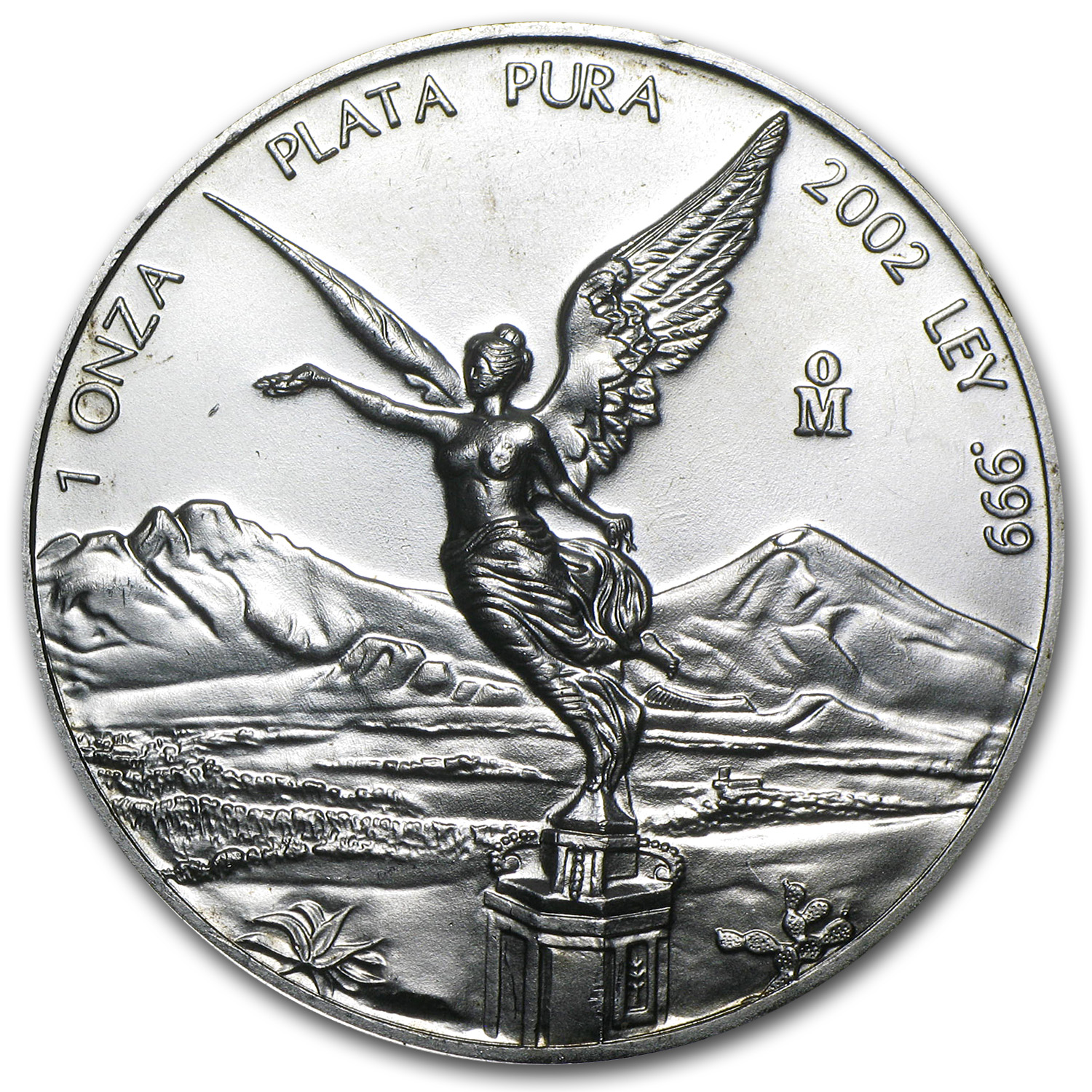 2002 1 oz Silver Mexican Libertad (Brilliant Uncirculated)