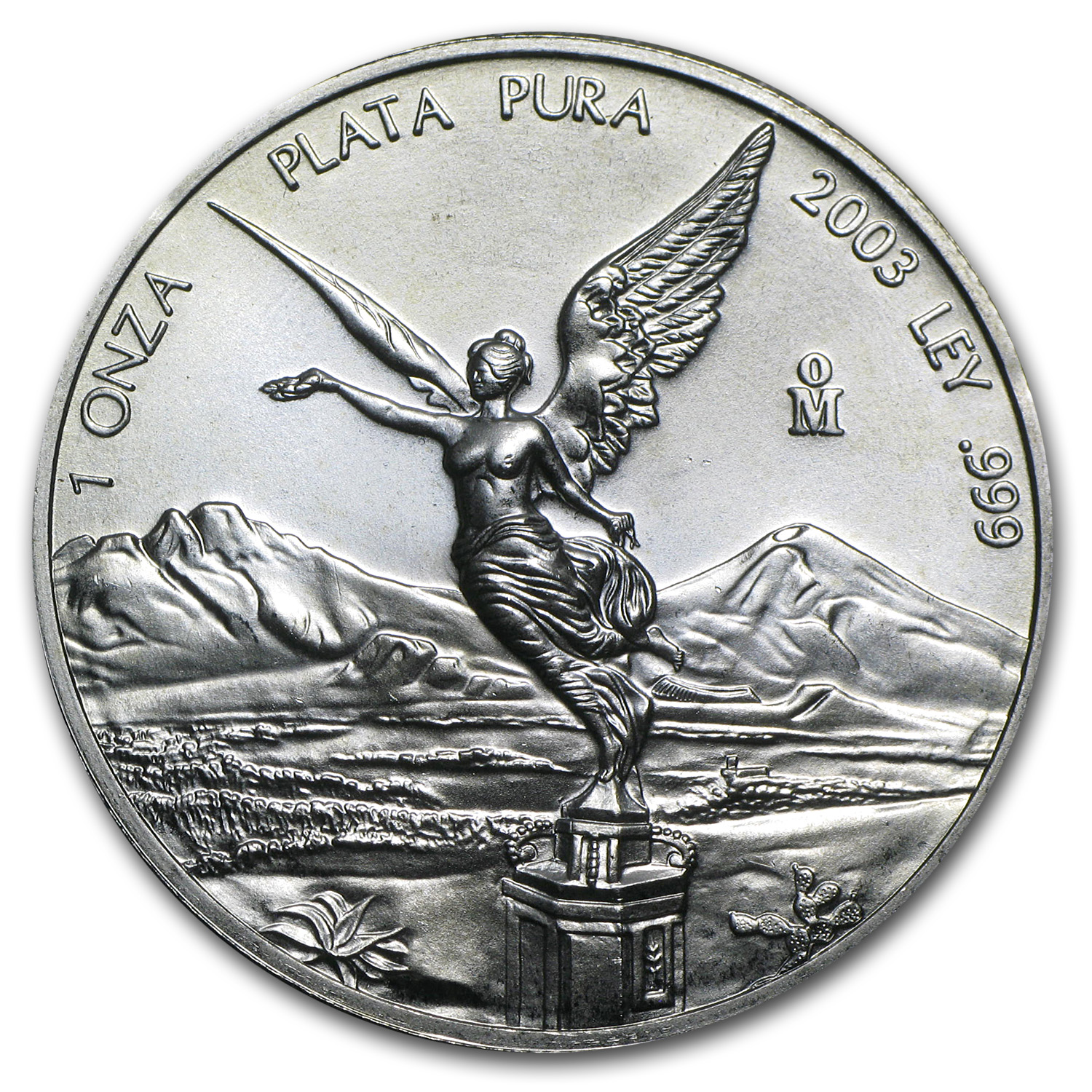 2003 1 oz Silver Mexican Libertad (Brilliant Uncirculated)