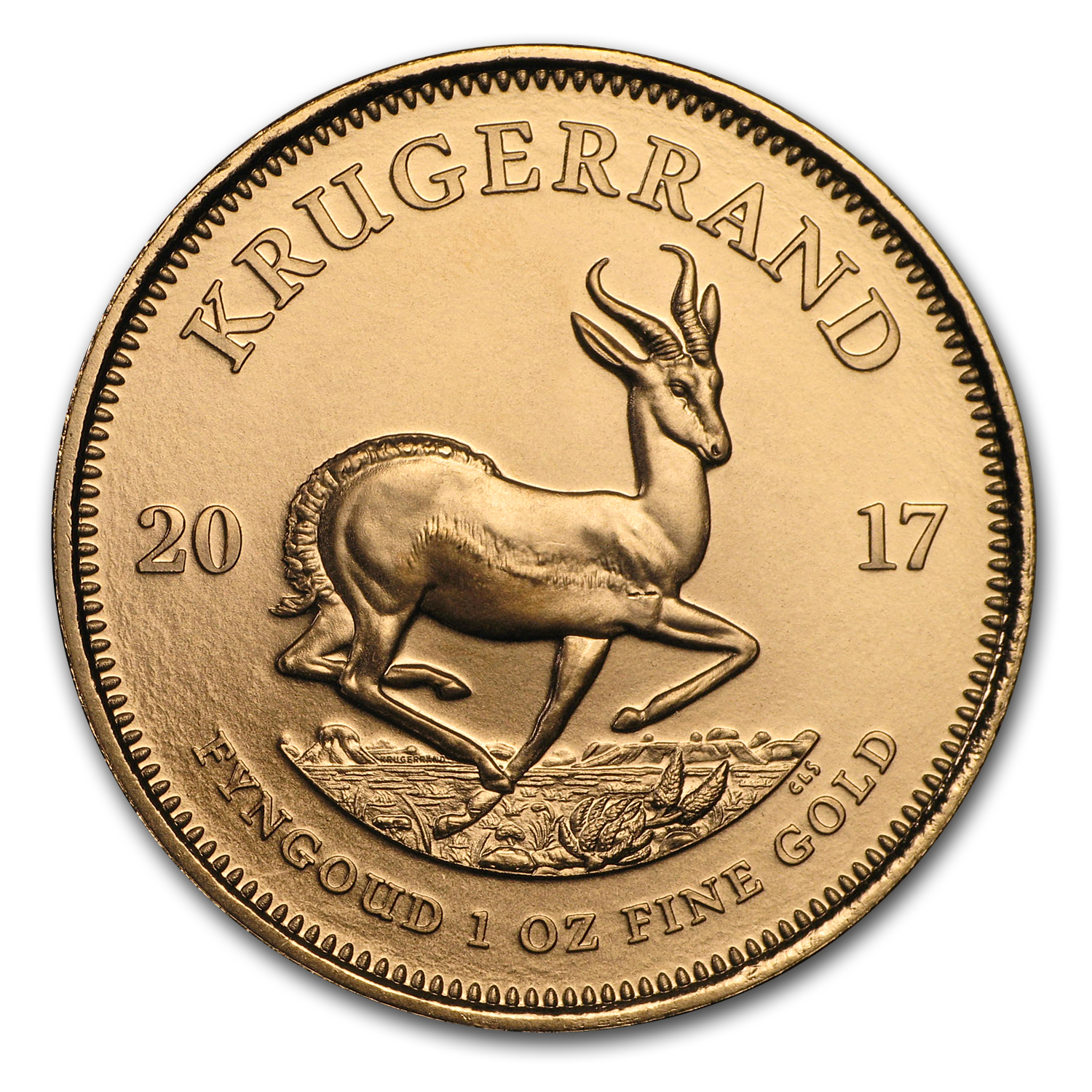 2017 South Africa 1 oz Gold Krugerrand BU
