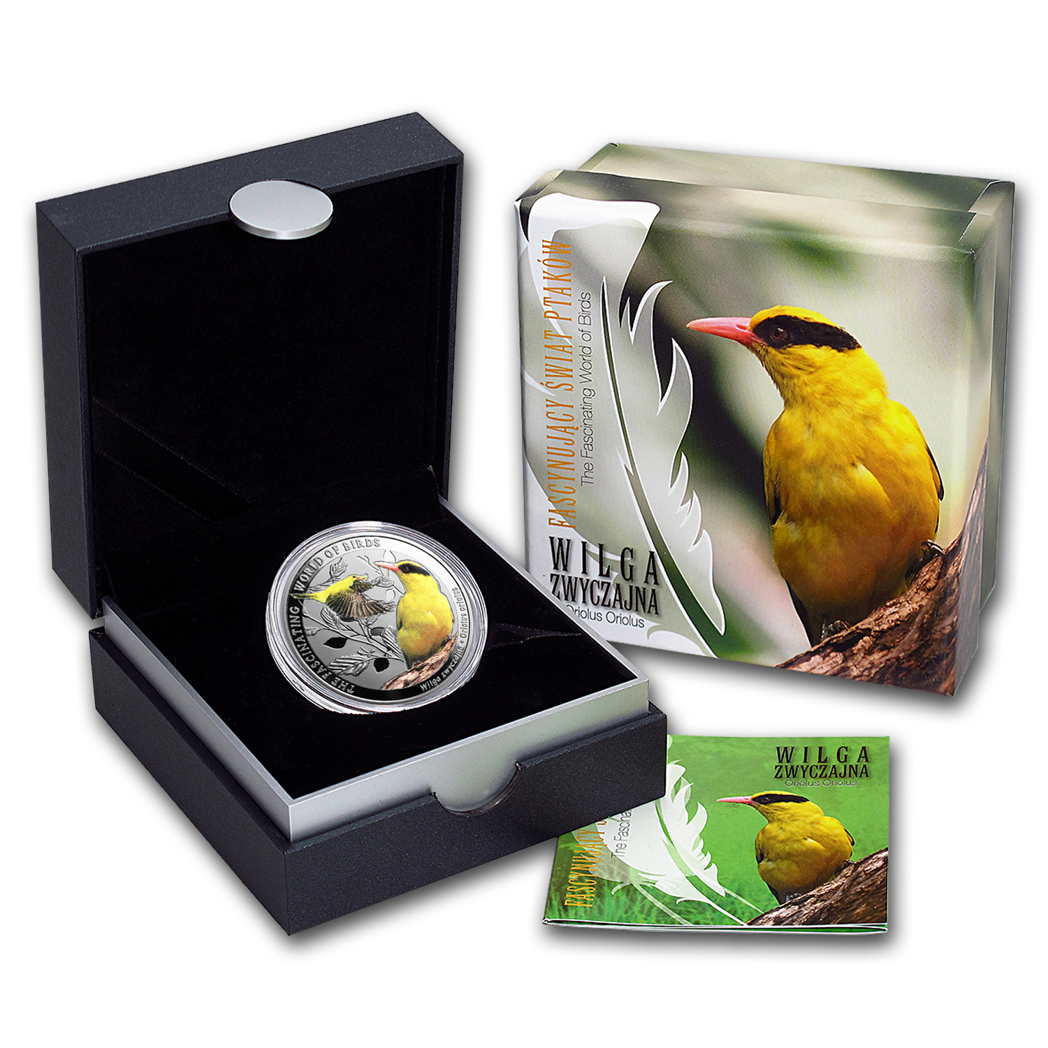 2016 Niue Silver Fascinating World of Birds Golden Oriole
