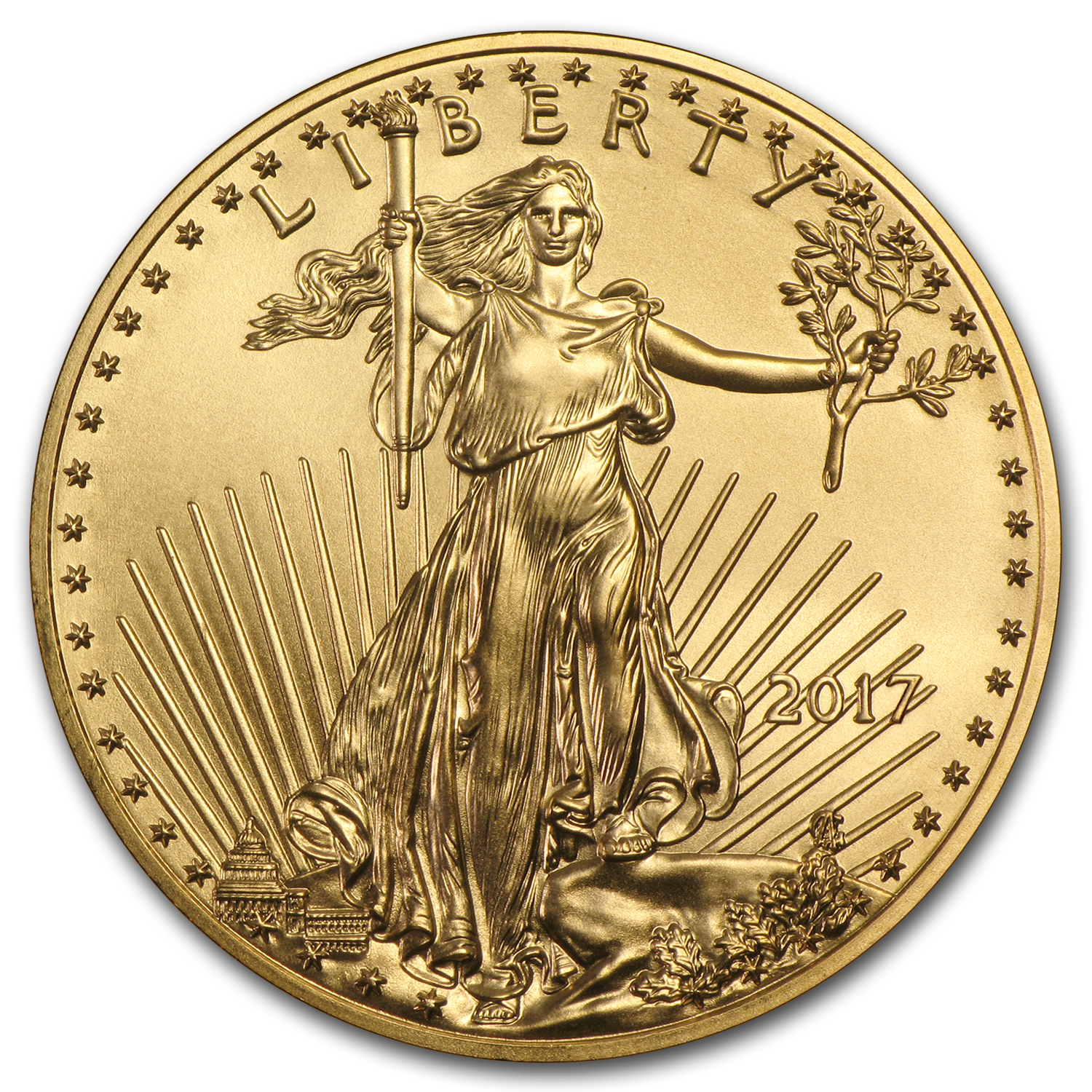 2017 1/4 oz Gold American Eagle (MintDirect® Single)