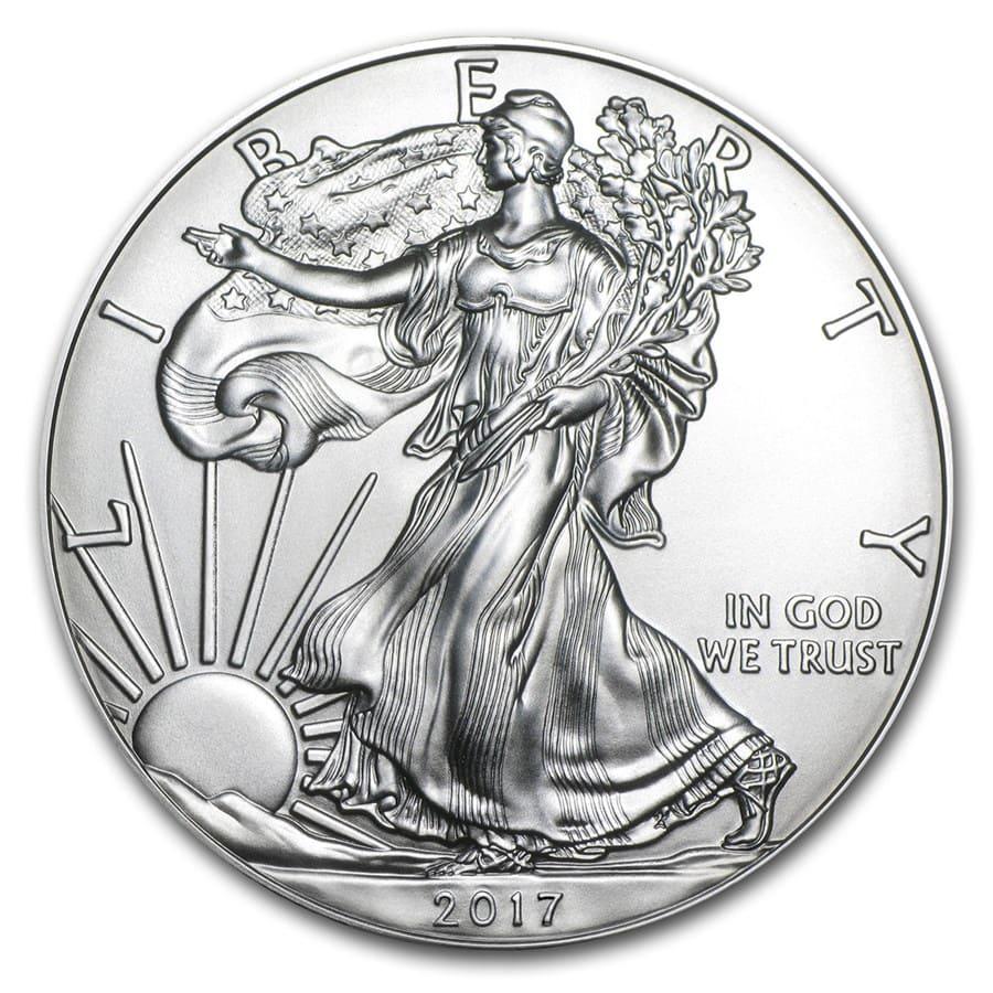 Buy 2017 1 Oz Silver American Eagle Bu Online 2017