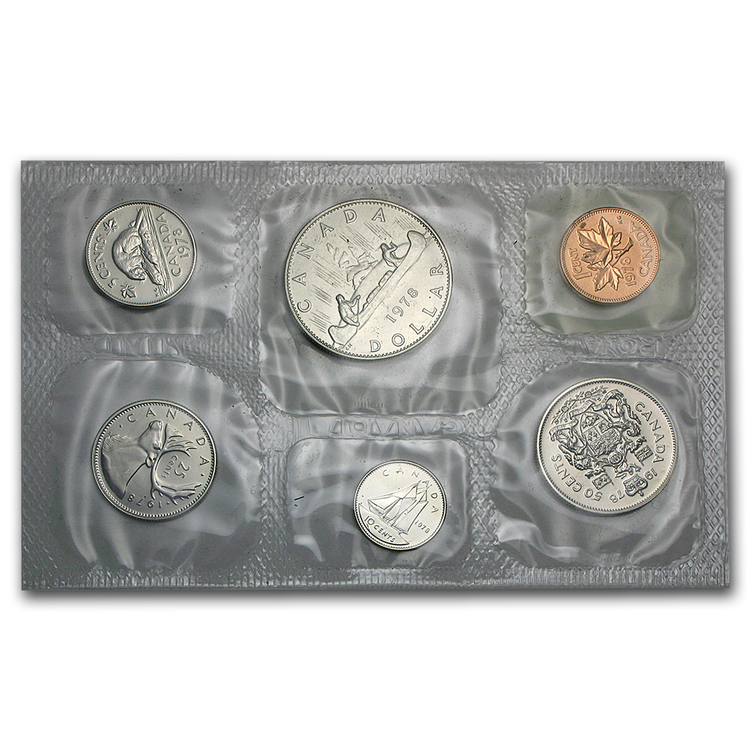 1978 Canada Proof Like 6 Piece Coin Set