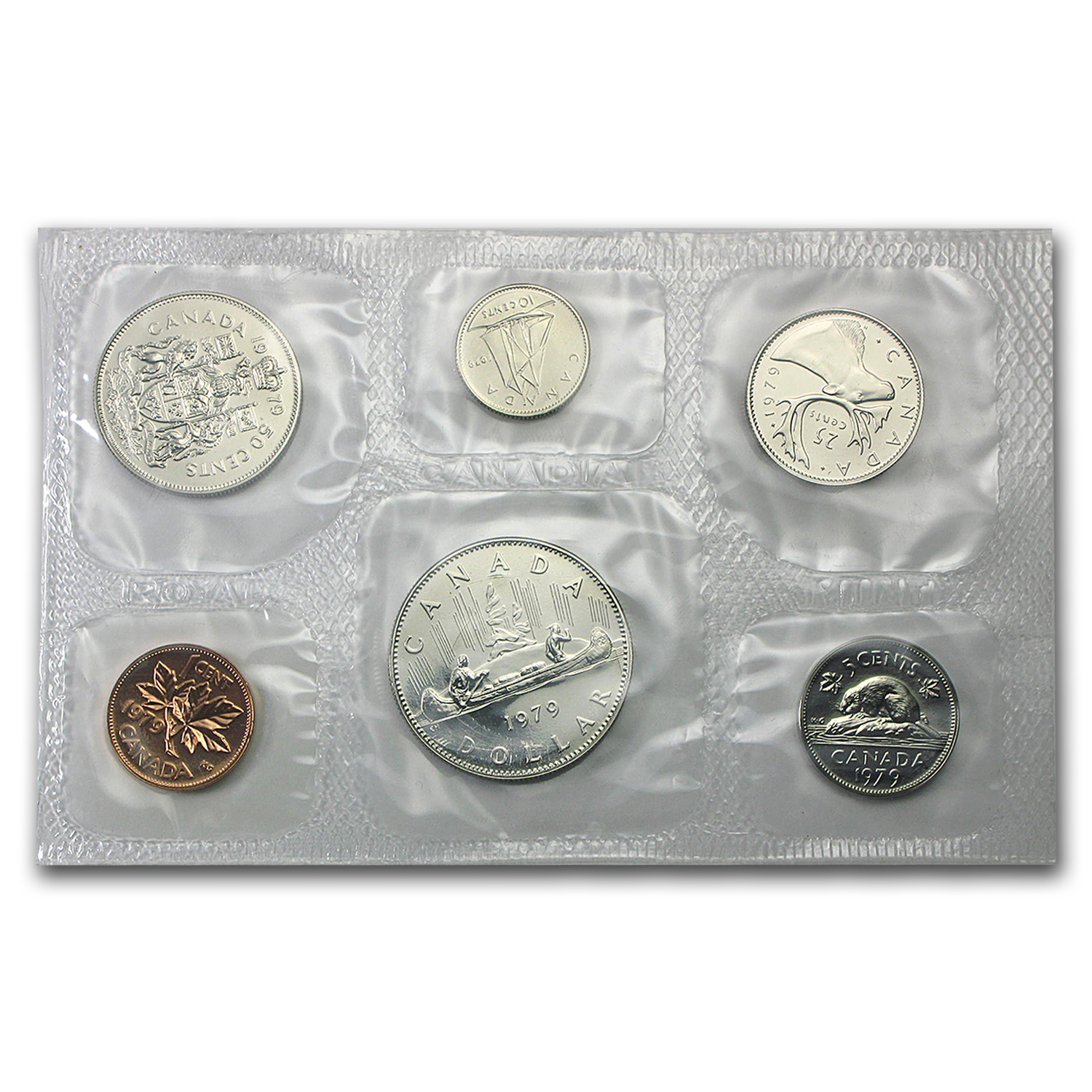 1979 Canada Proof Like 6 Piece Coin Set