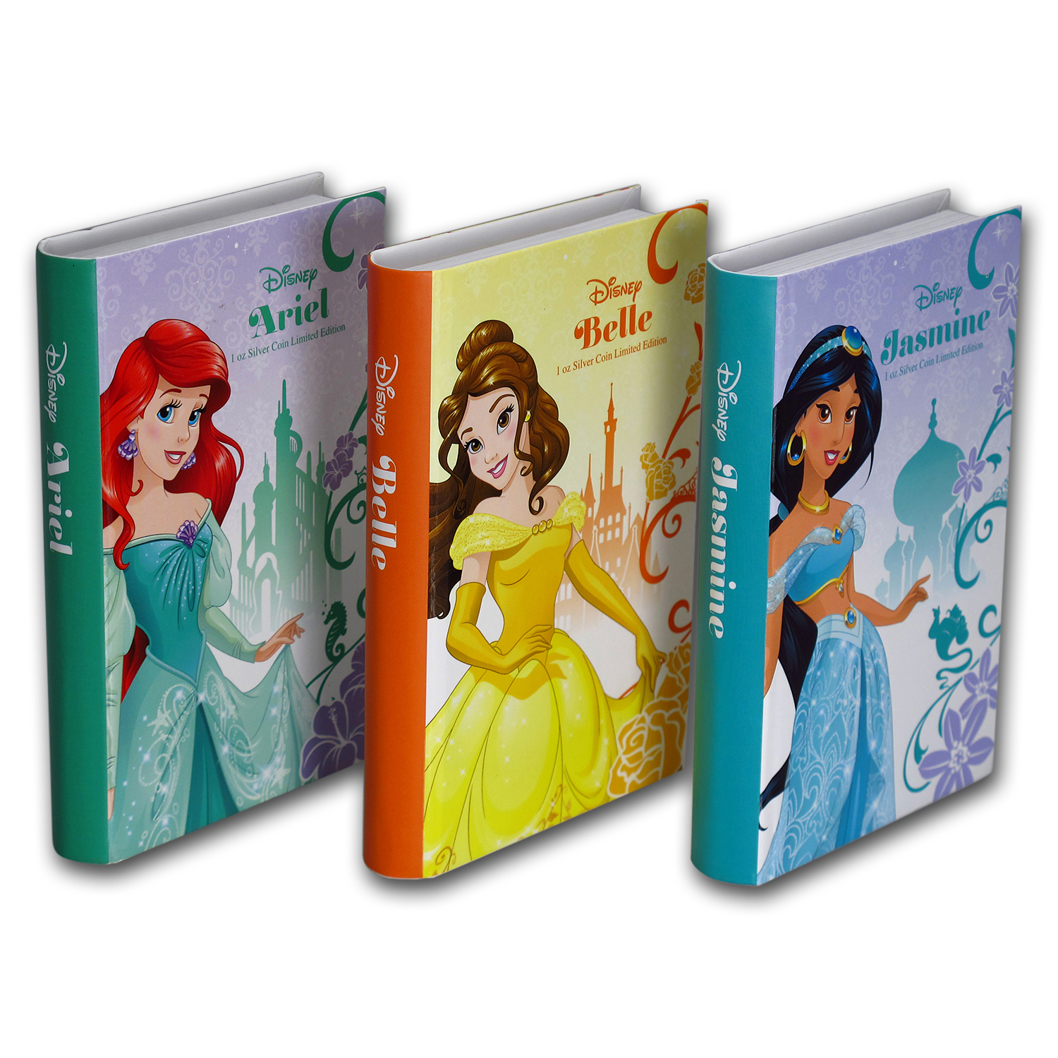 2015-16 Niue 11-Coin Silver $2 Disney Princess Set