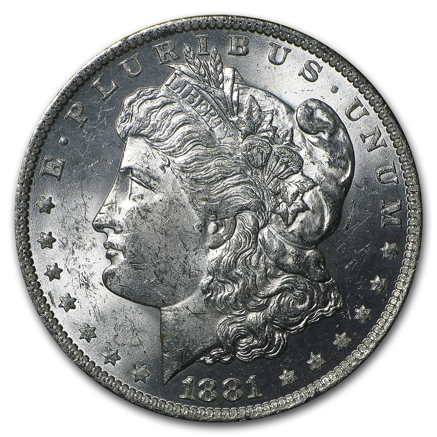 1881-O Morgan Dollar MS-62 NGC (GSA)