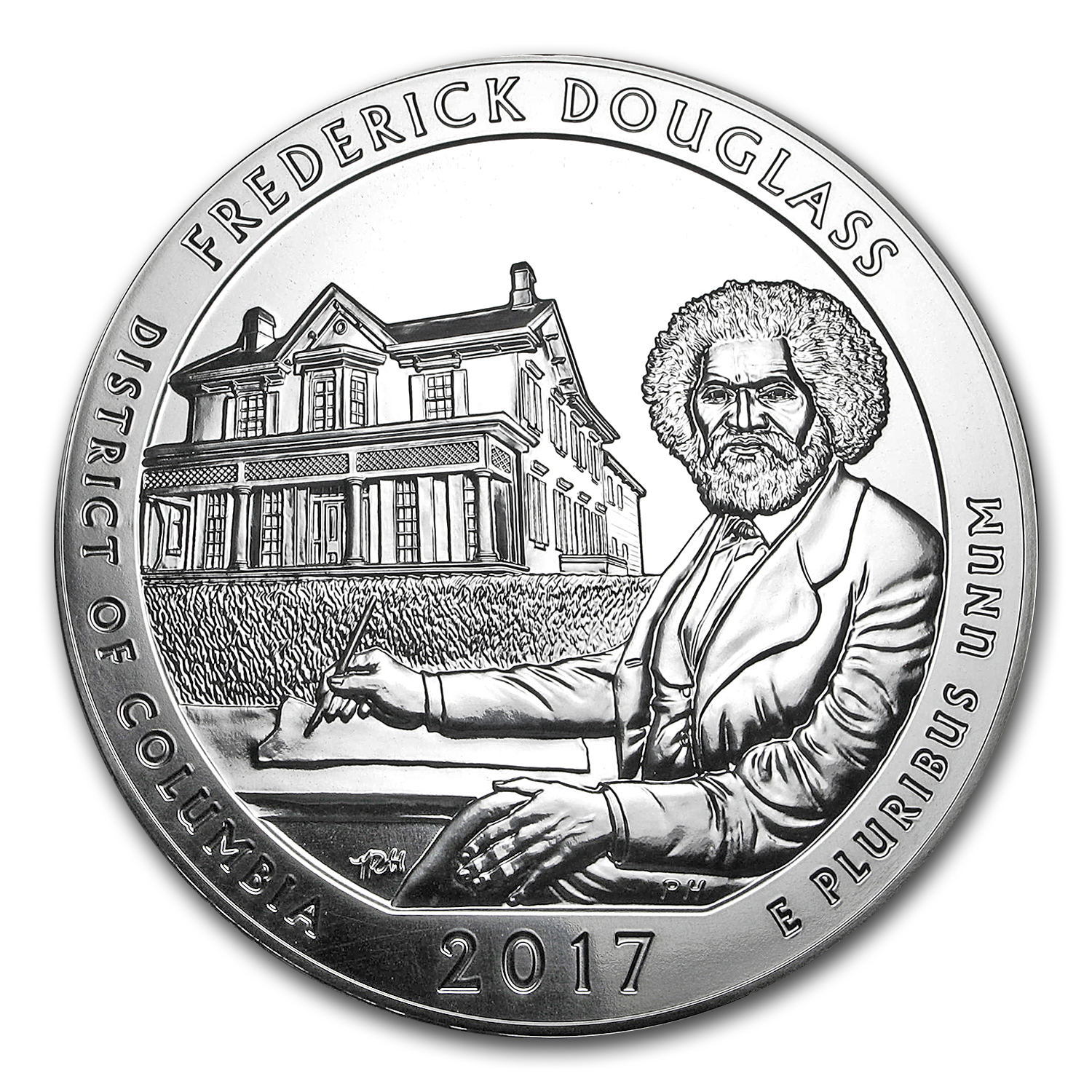 2017 5 oz Silver ATB Frederick Douglass National Site, DC