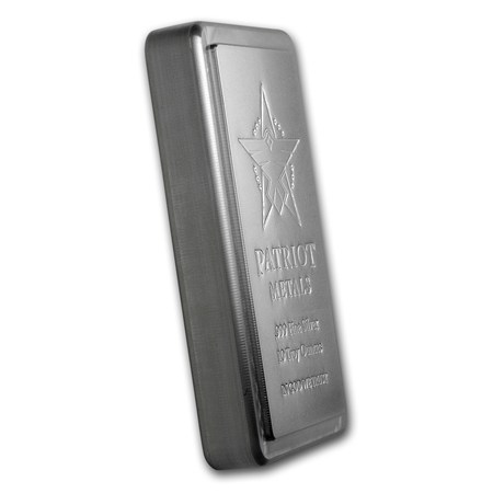 10 Oz Silver Bar Patriot Metals 10 Oz Silver Bars