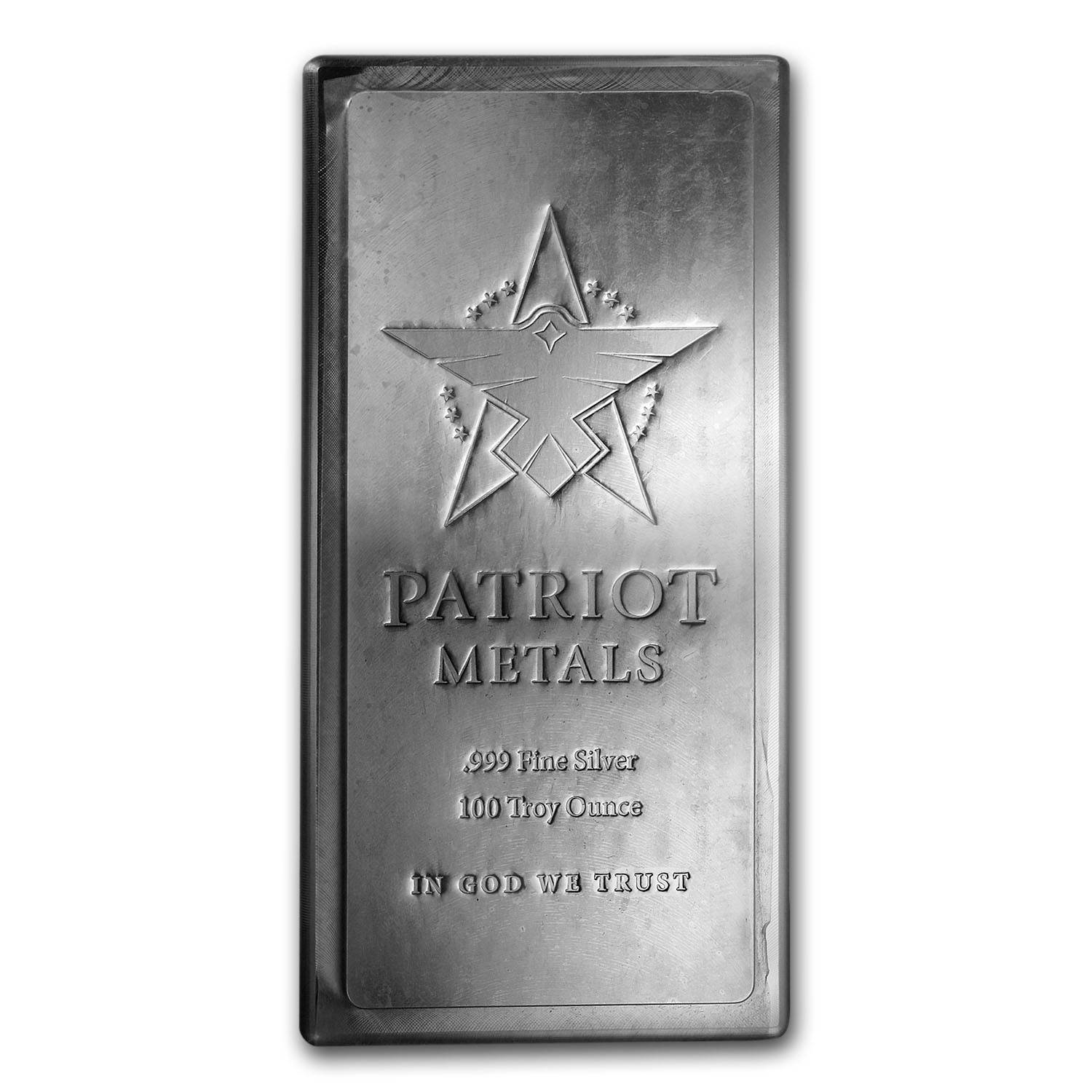 100 oz Silver Bar - Patriot Metals