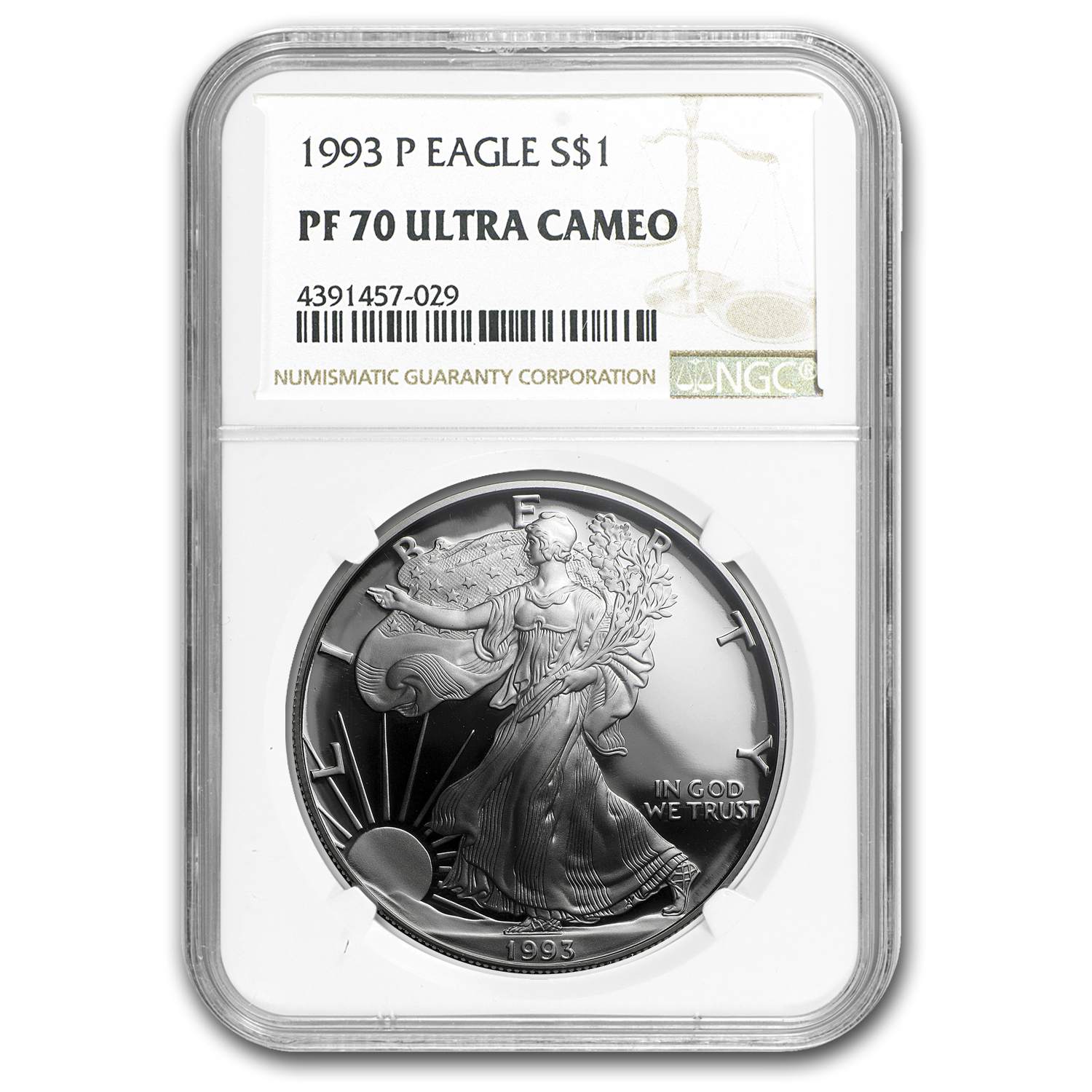 1986-2015 30-Coin Proof Silver Eagle Set PF-70 NGC (inc. 1995-W)