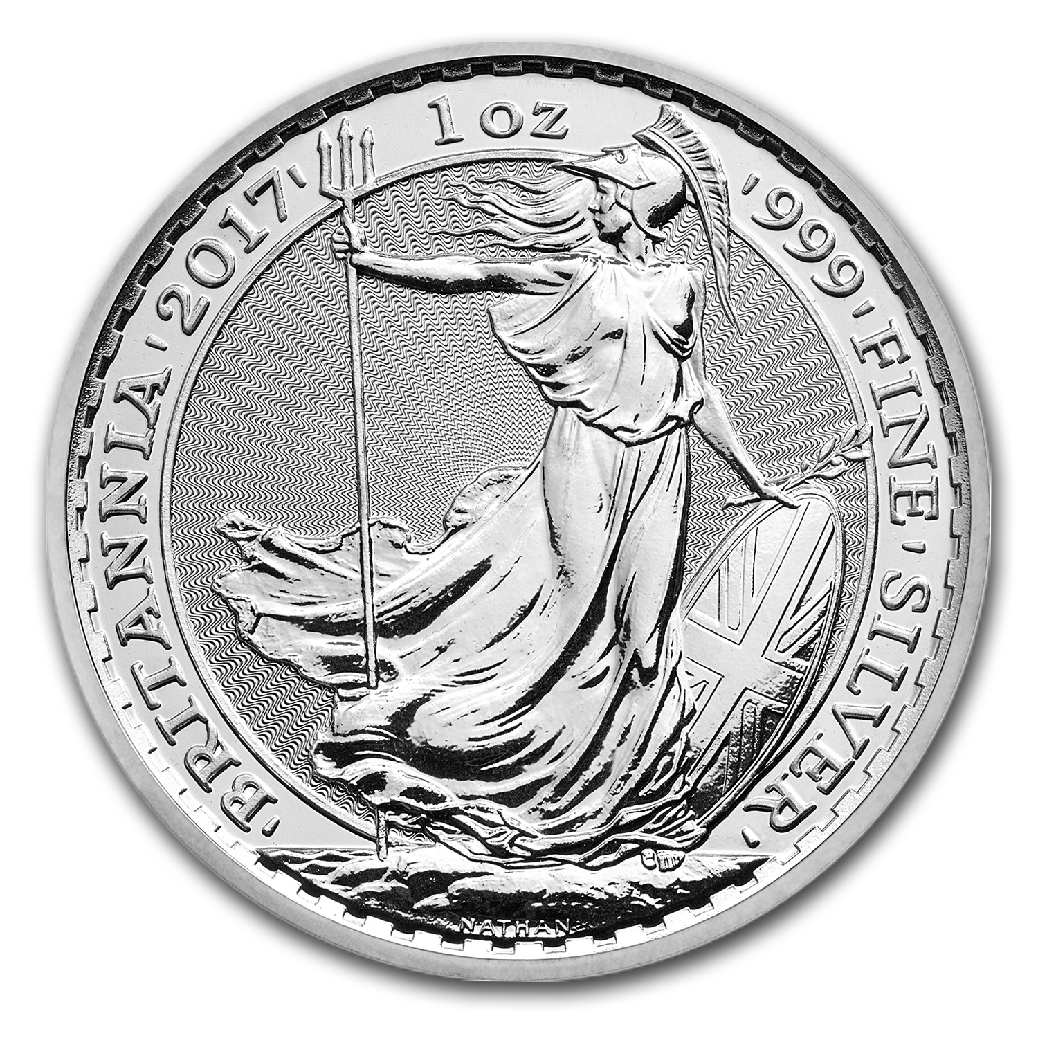 2017 Great Britain 1 oz Silver Britannia BU