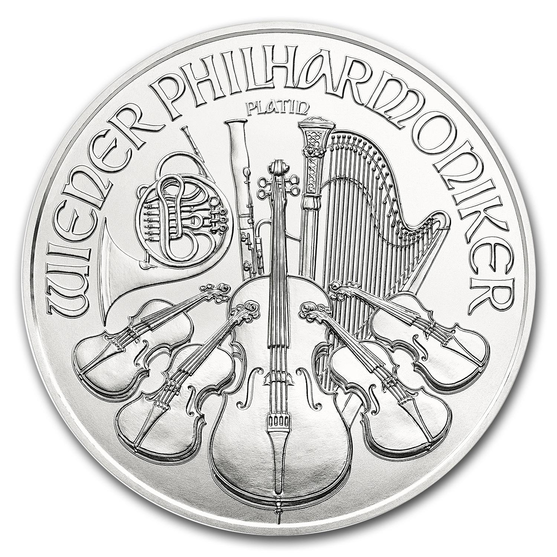 2017 Austria 1 oz Platinum Philharmonic BU