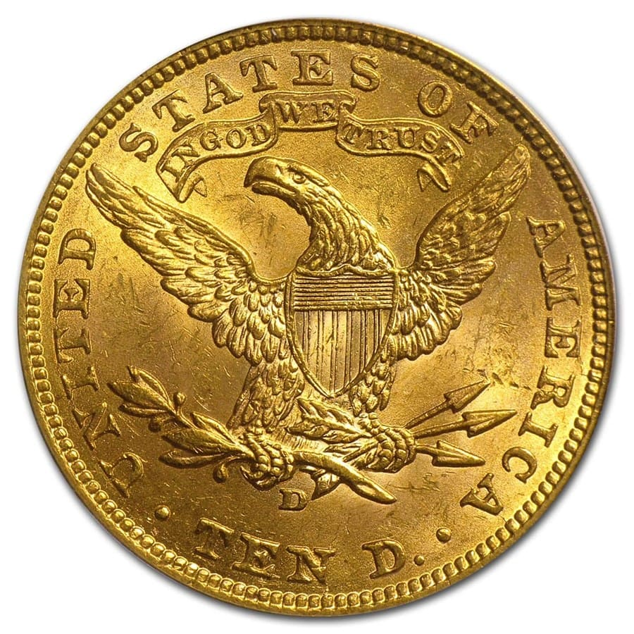 $10 Liberty Gold Eagle MS-63 PCGS