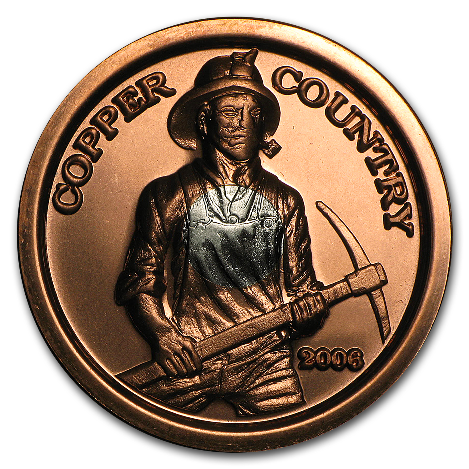 Copper Country - Silver Core Bullion Coin
