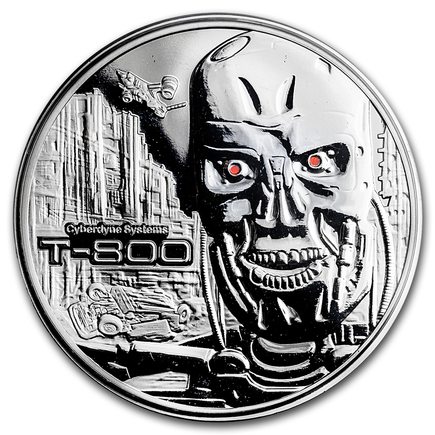 2 oz Silver Round - Terminator T-800 Proof
