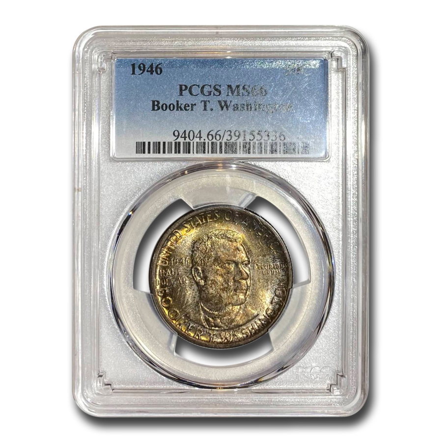 1946 Booker T. Washington Half MS-66 PCGS