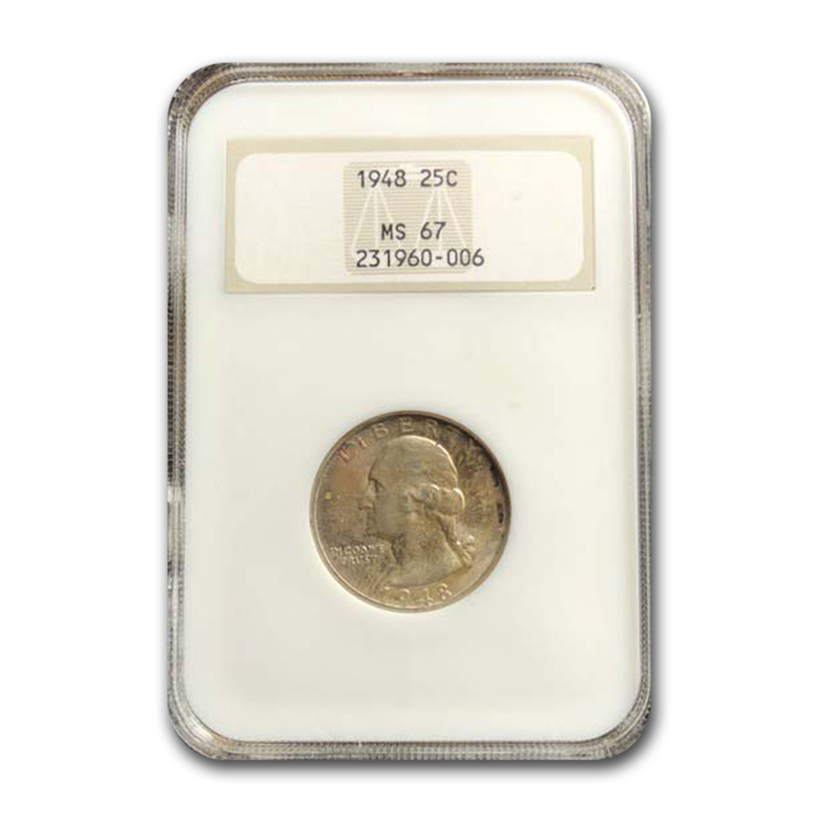 1948 Washington Quarter MS-67 NGC