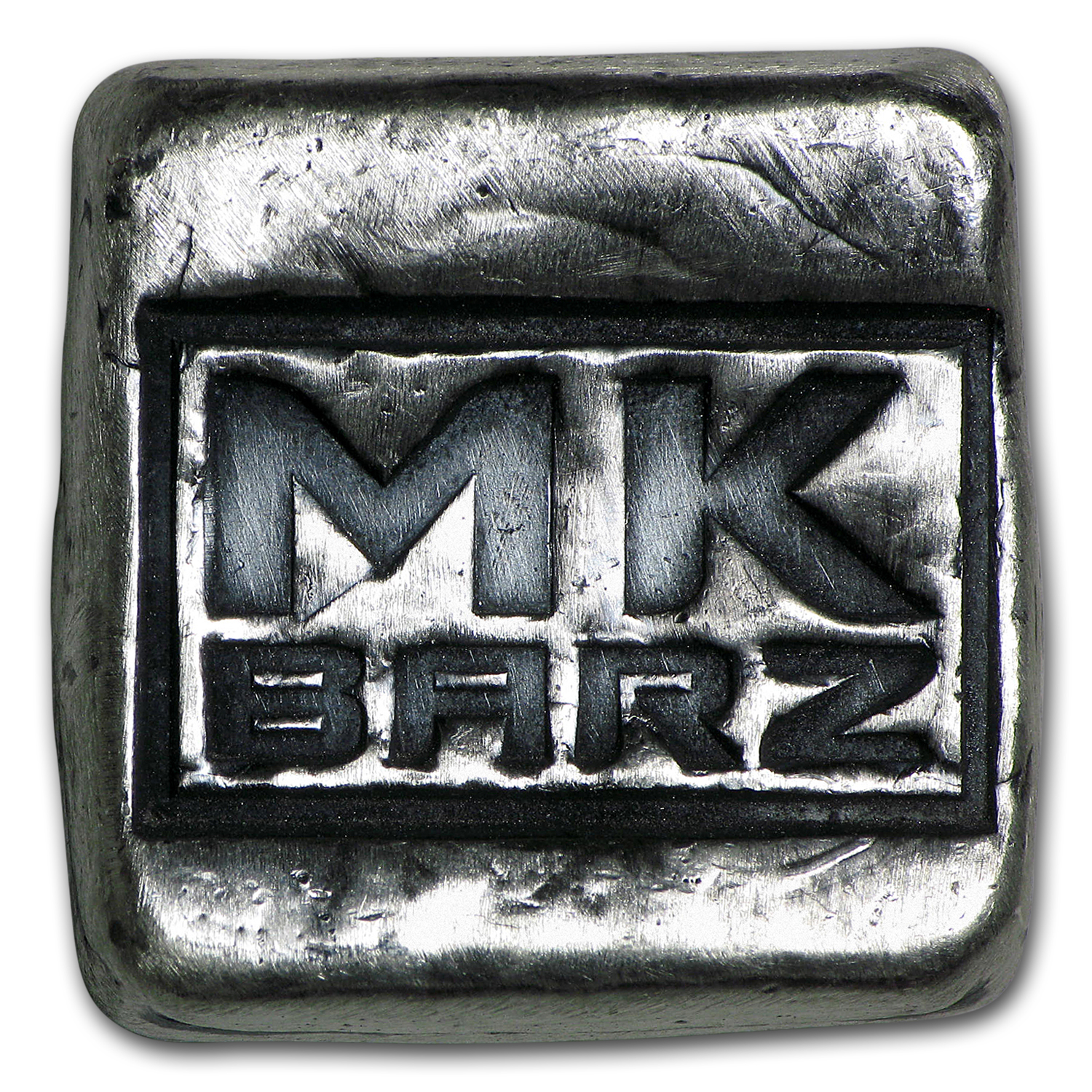 1 oz Silver Square - Mk Barz & Bullion