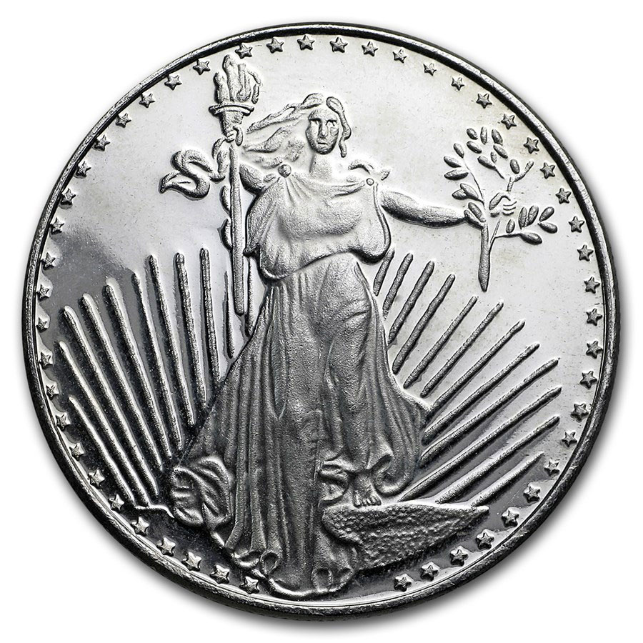 1 oz Silver Round - Secondary Market (Tube of 20)