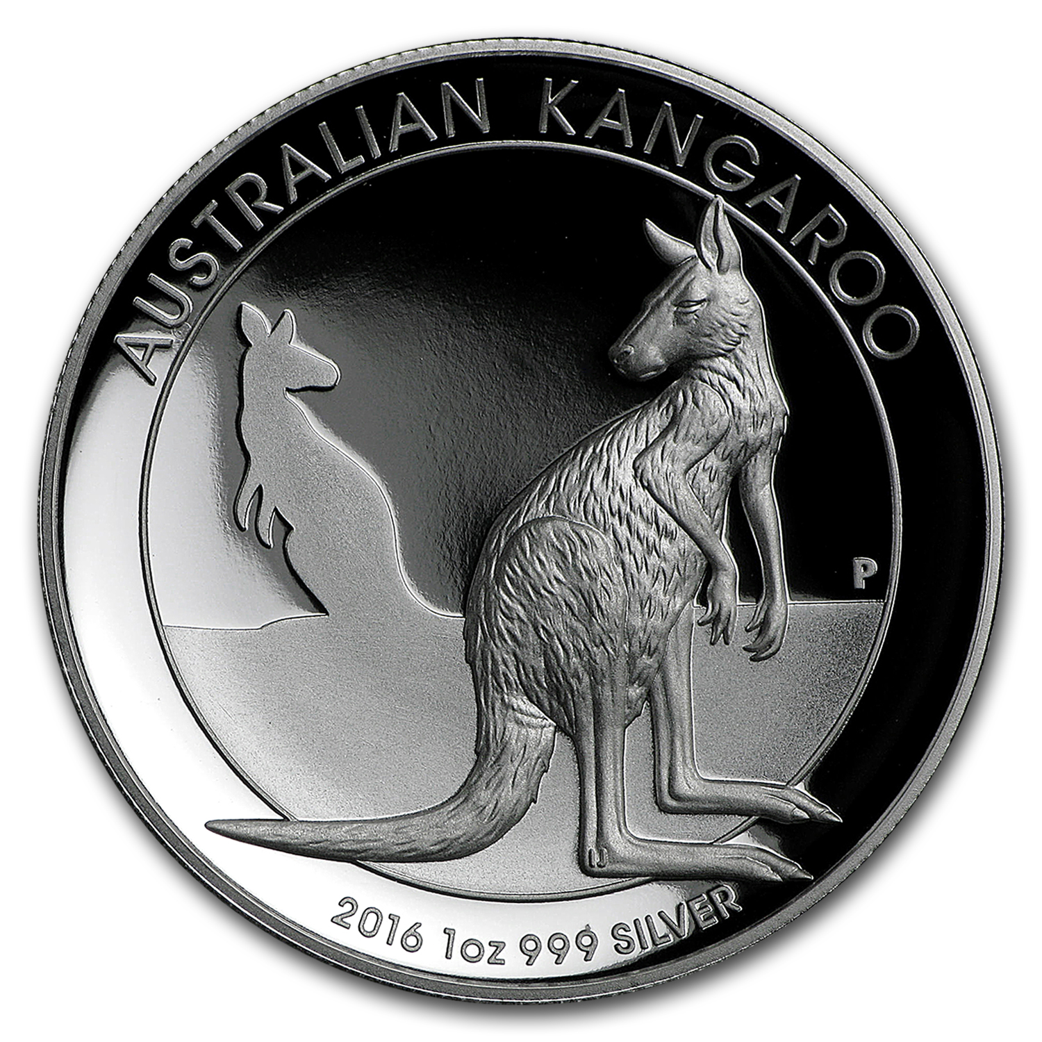 2016 Australia 1 oz Silver Kangaroo Proof (High Relief)