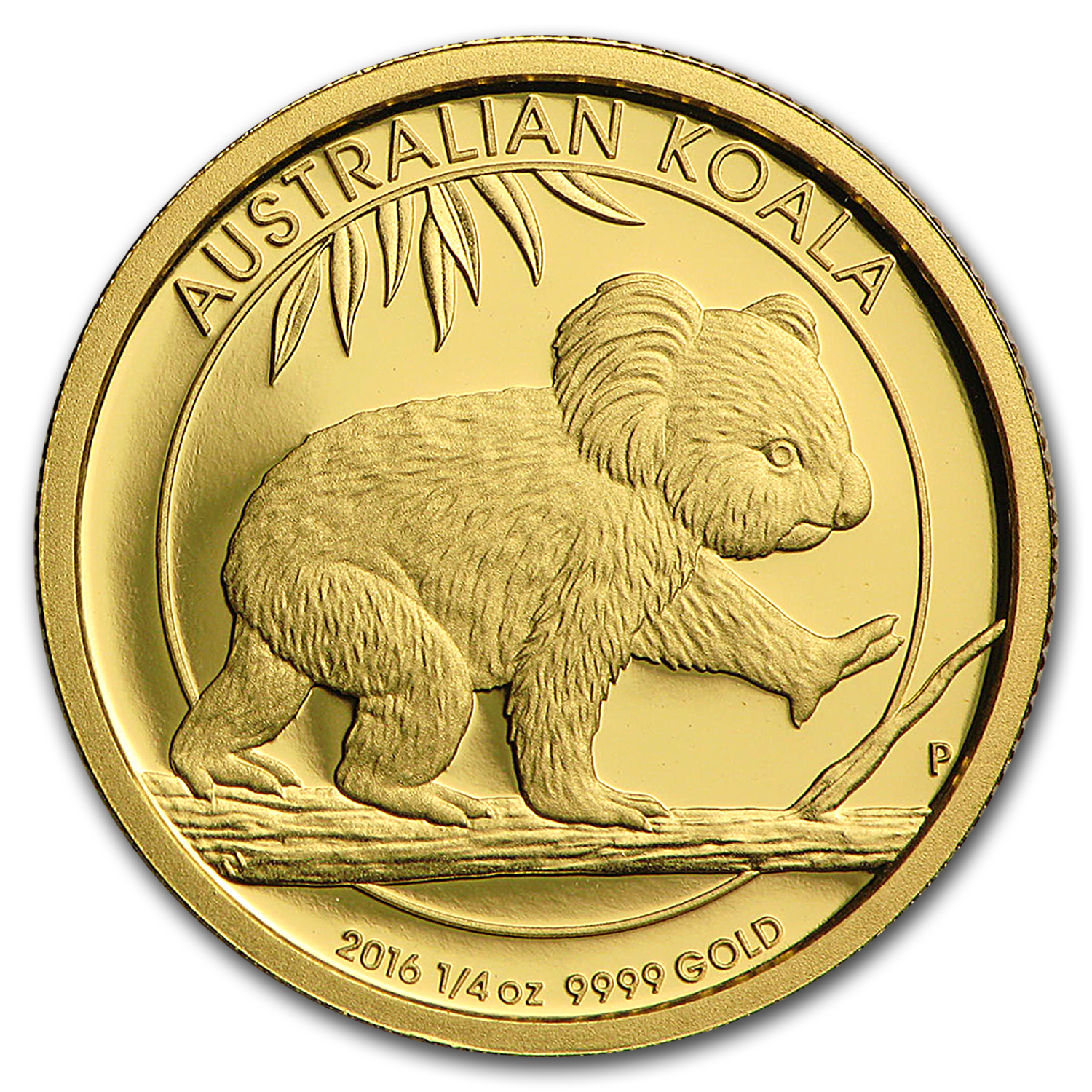 2016 Australia 1/4 oz Gold Koala Proof