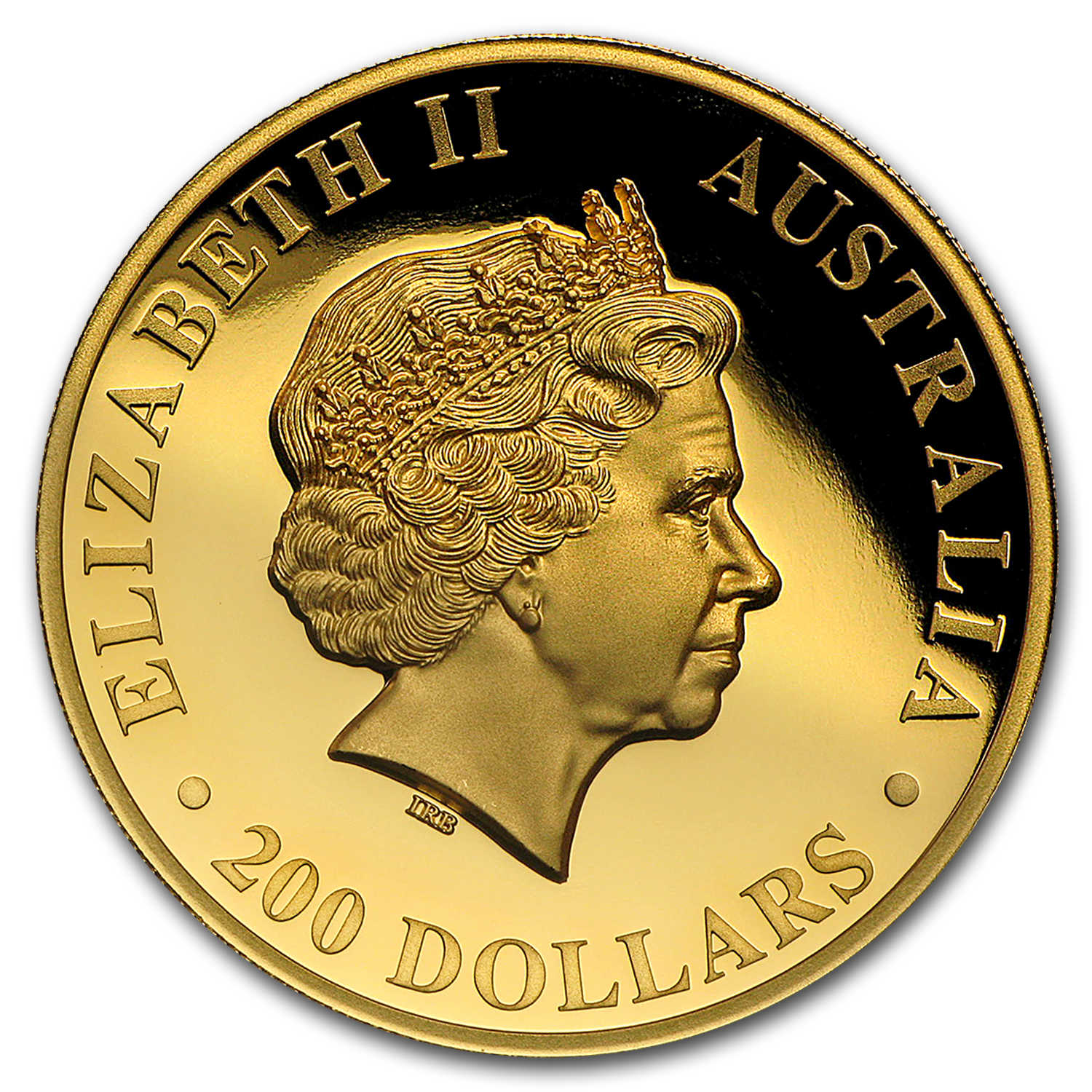 2016 Australia 2 oz Gold Koala Proof (High Relief, Box & COA)