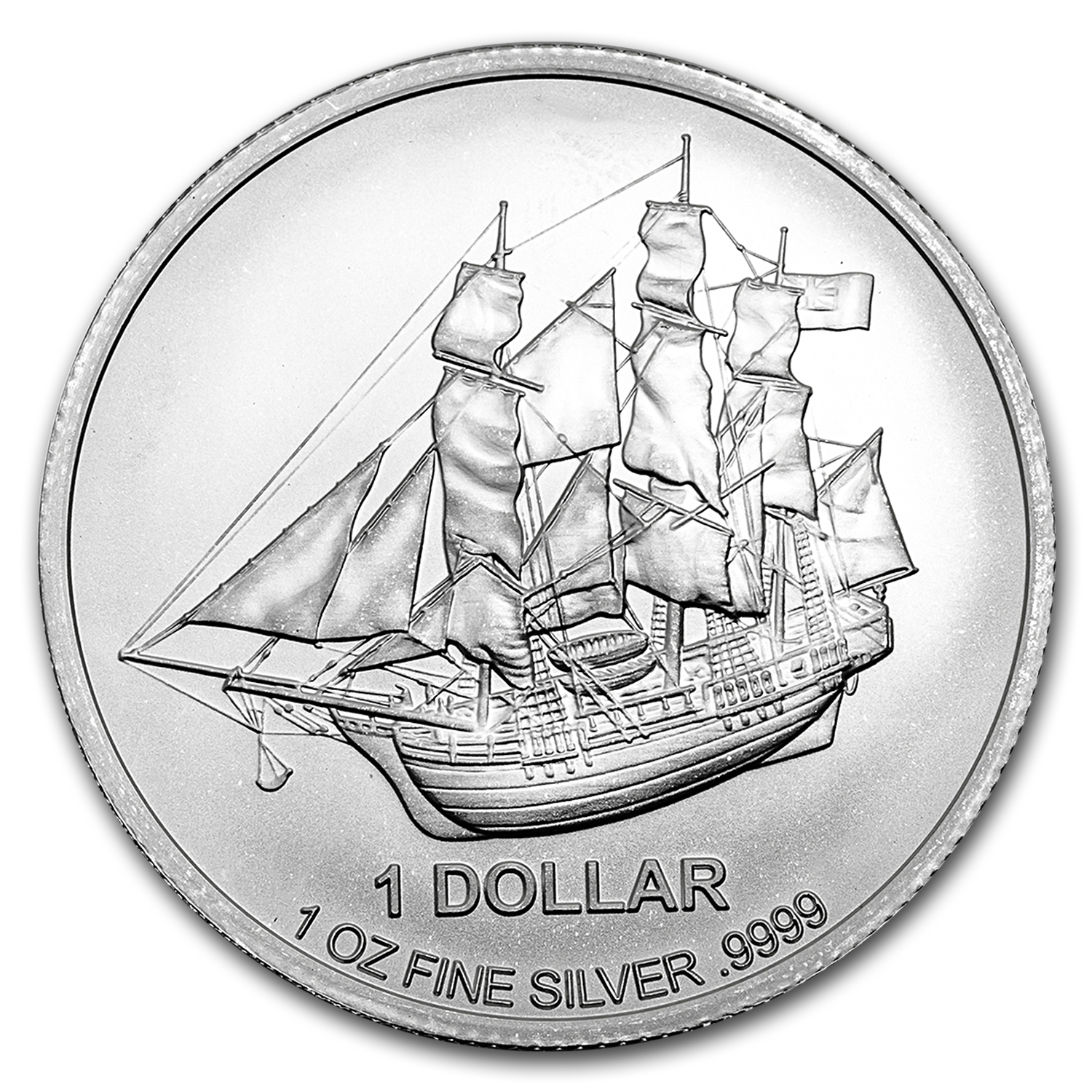 2017 Cook Islands 1 oz Silver Bounty Coin