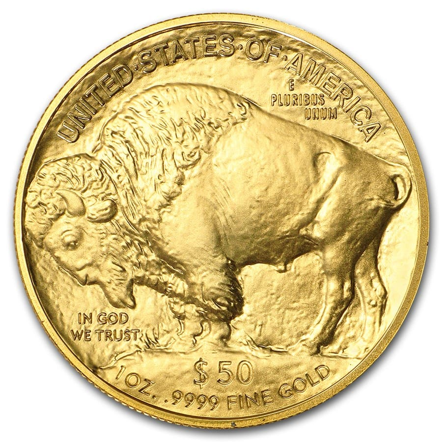 2017 1 oz Gold Buffalo BU
