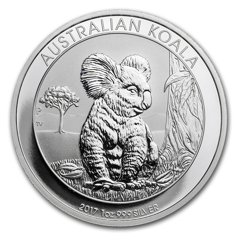 Buy 2017 Australia 1 Oz Silver Koala Bu Perth Mint Koala