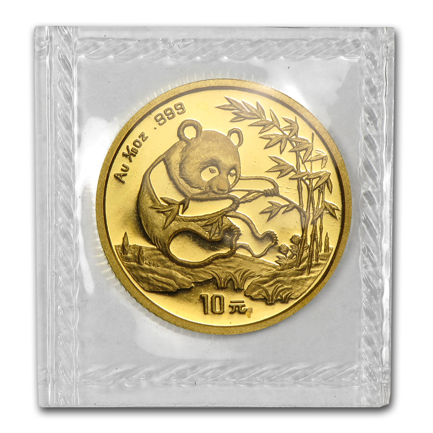 1994 (1/10 oz) Gold Chinese Pandas - Small Date (Sealed)