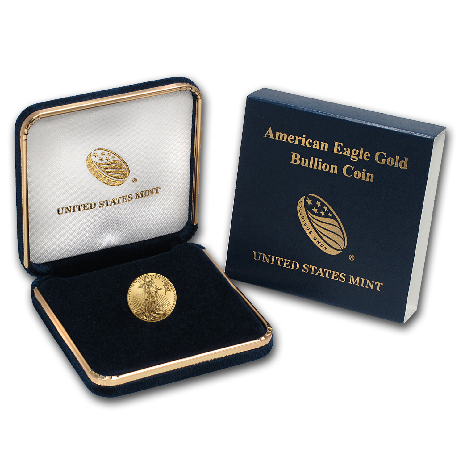 2017 1/10 oz Gold American Eagle BU (w/U.S. Mint Box)