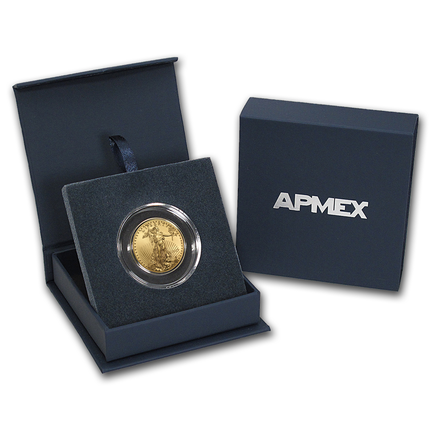 2017 1/2 oz Gold American Eagle BU (w/APMEX Gift Box)