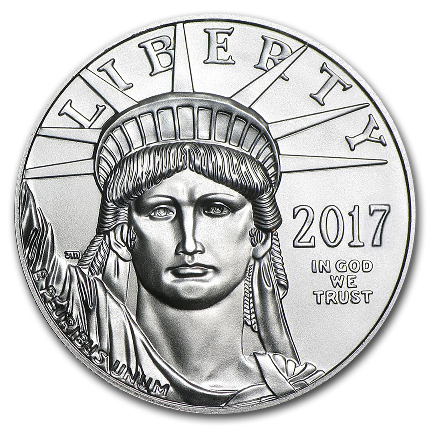 2017 1 oz Platinum American Eagle BU (w/U.S. Mint Box)
