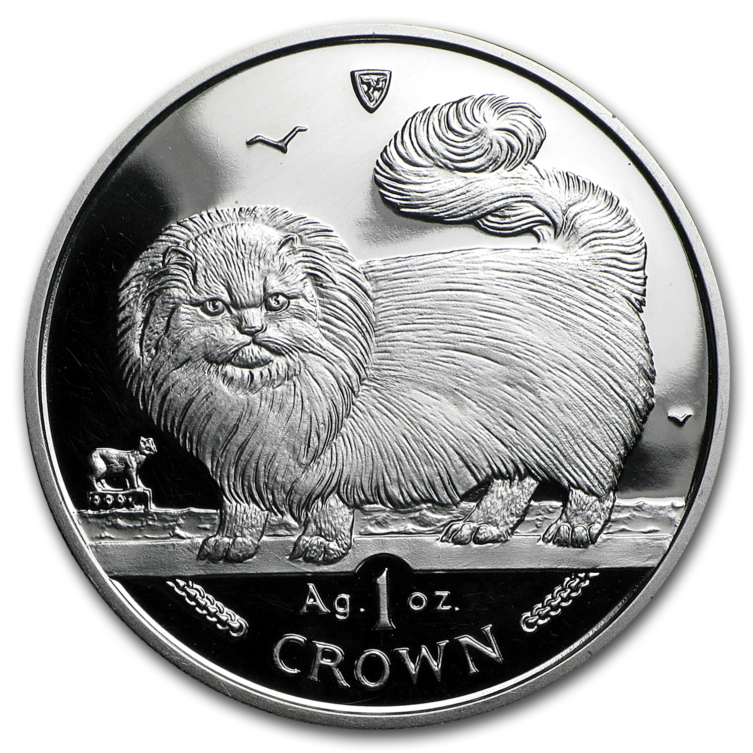 Isle of Man 1 oz Silver Cats Proof (Random Dates)