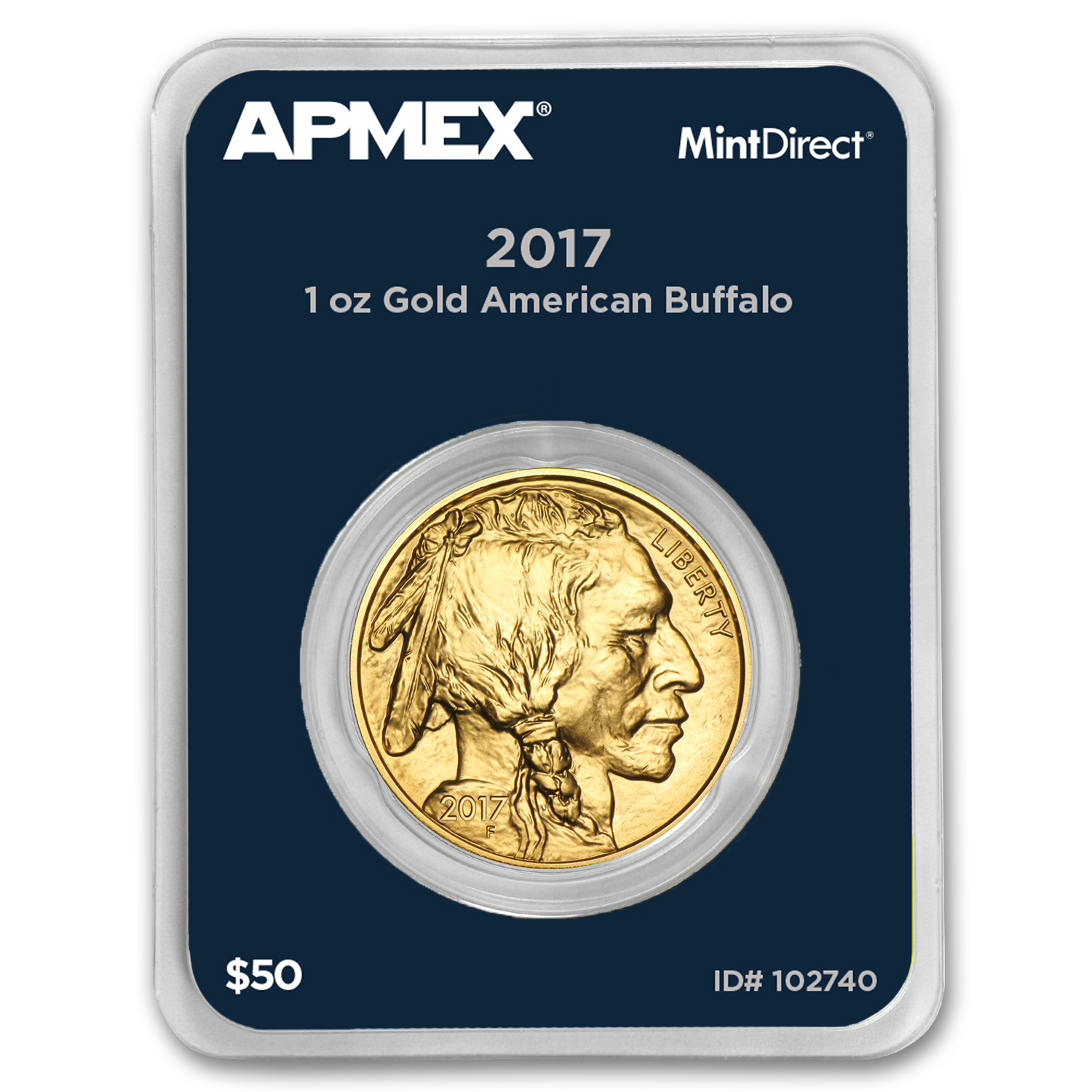 2017 1 oz Gold Buffalo (MintDirect® Single)