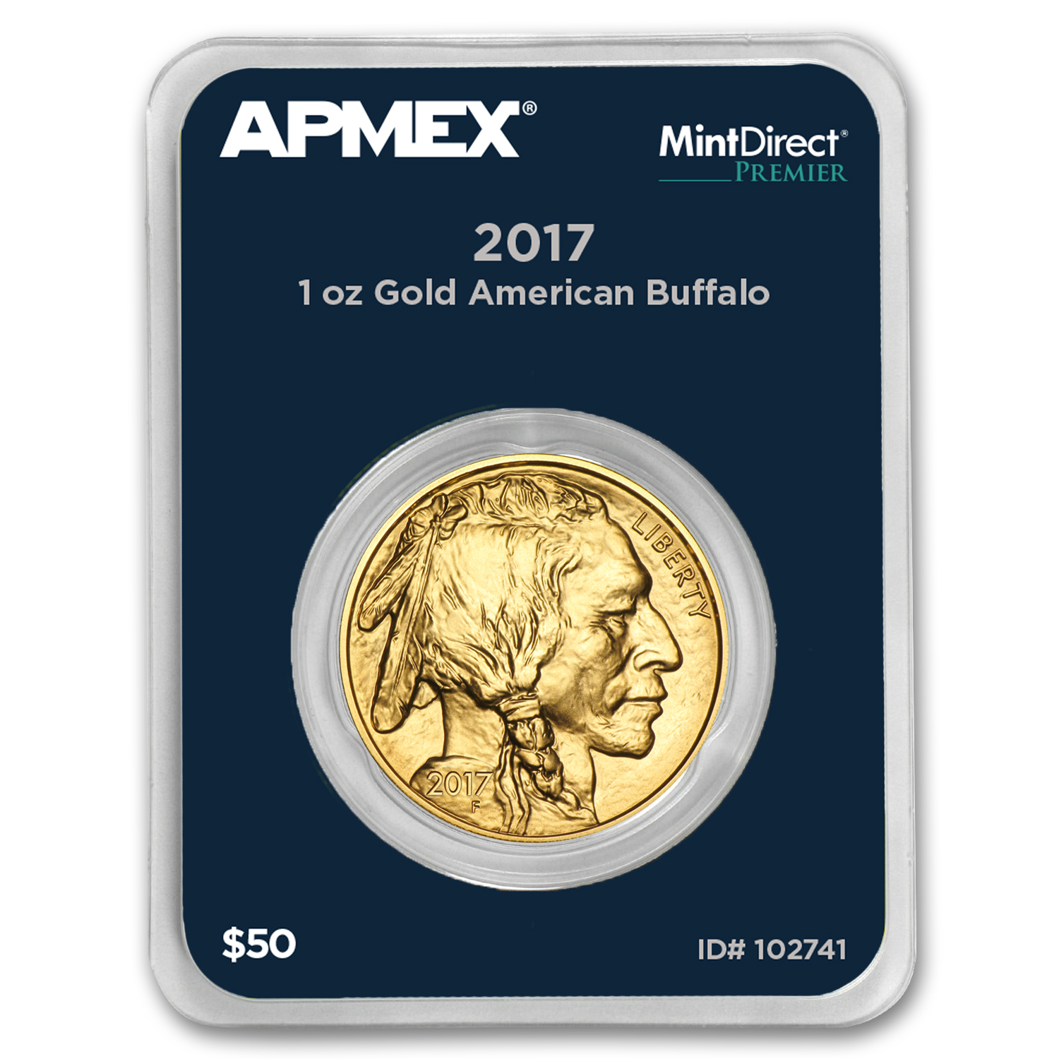 2017 1 oz Gold Buffalo (MintDirect® Premier Single)