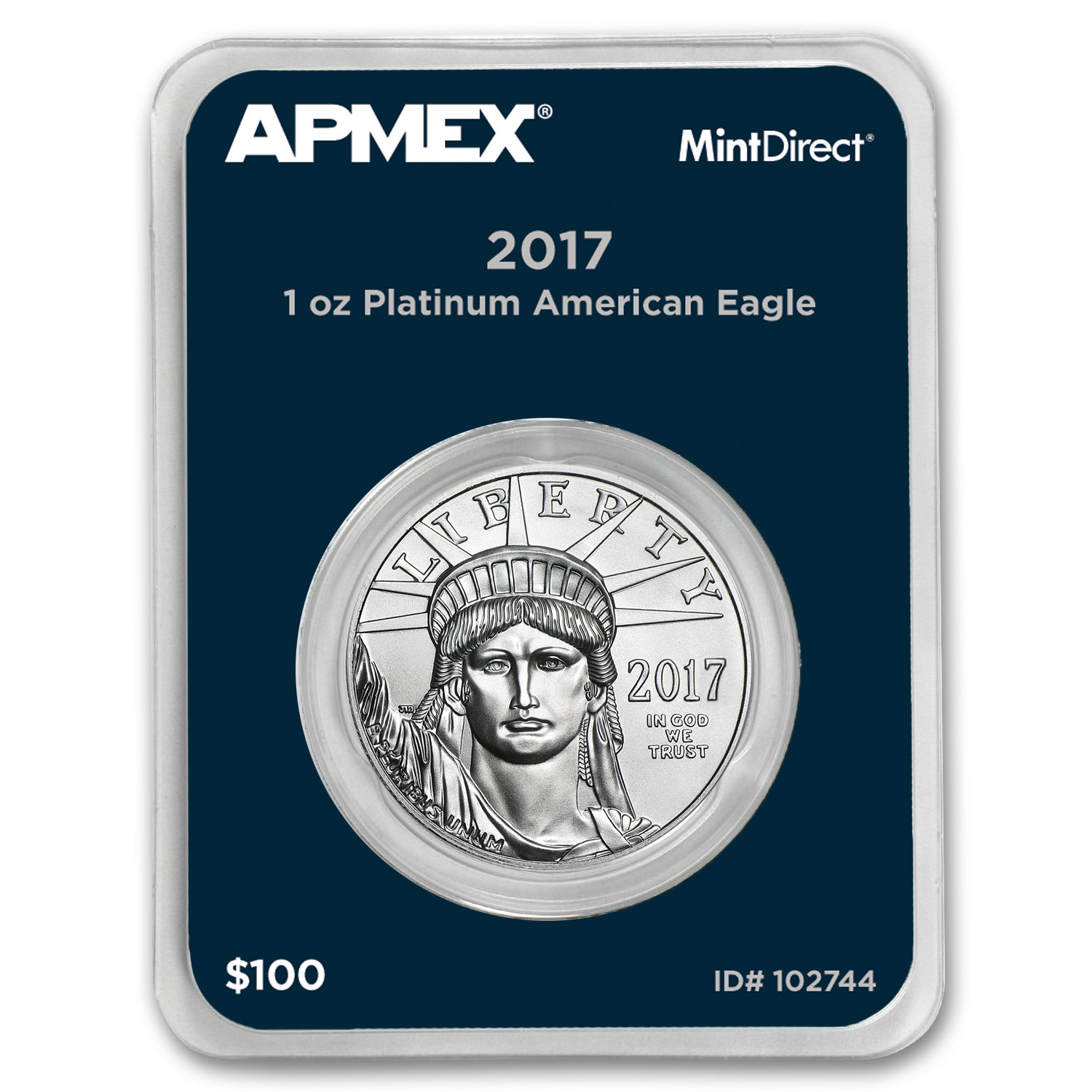 2017 1 oz Platinum American Eagle (MintDirect® Single)