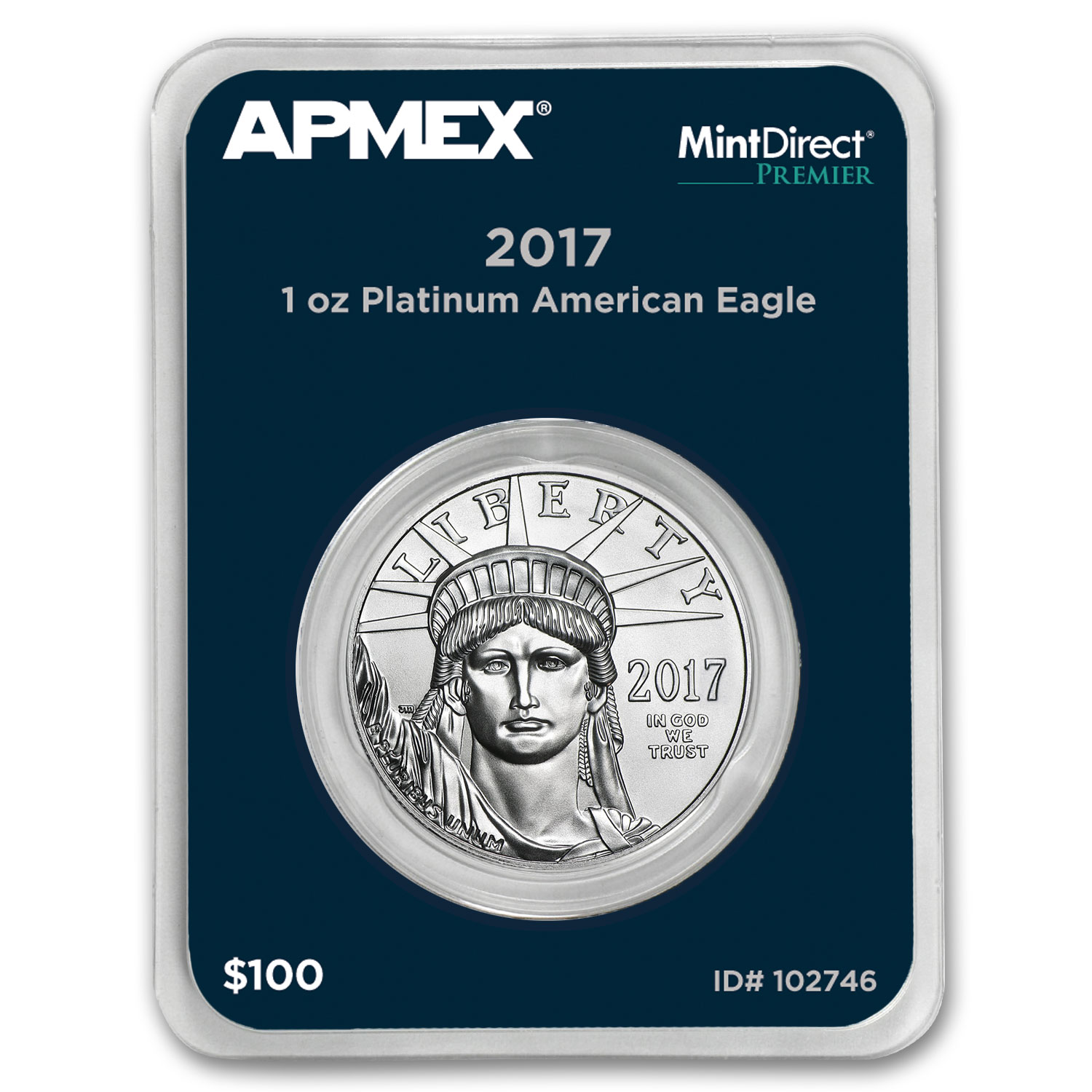 2017 1 oz Platinum American Eagle (MintDirect® Premier Single)