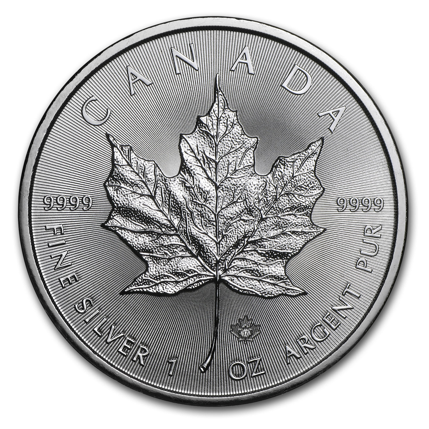 2017 Canada 1 oz Silver Maple Leaf BU