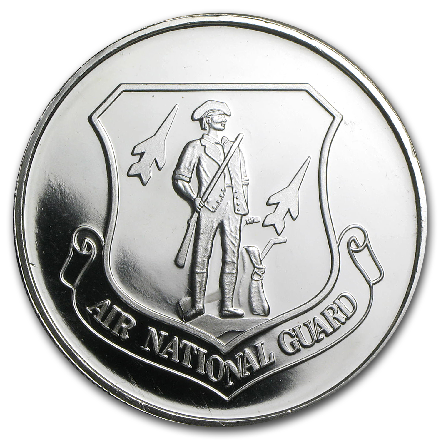 1 oz Silver Round - Air National Guard