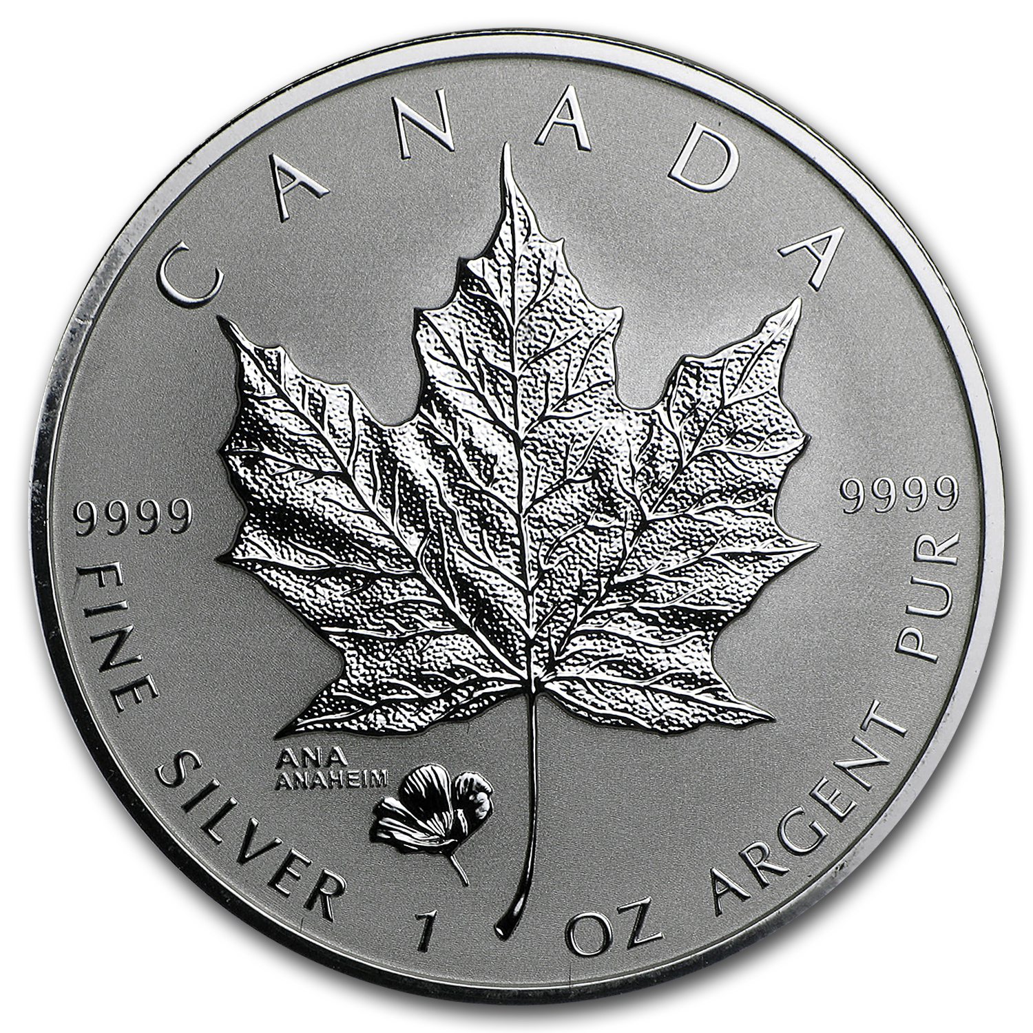 2016 Canada 1 oz Rev Proof Silver Maple Leaf ANA Privy Mark