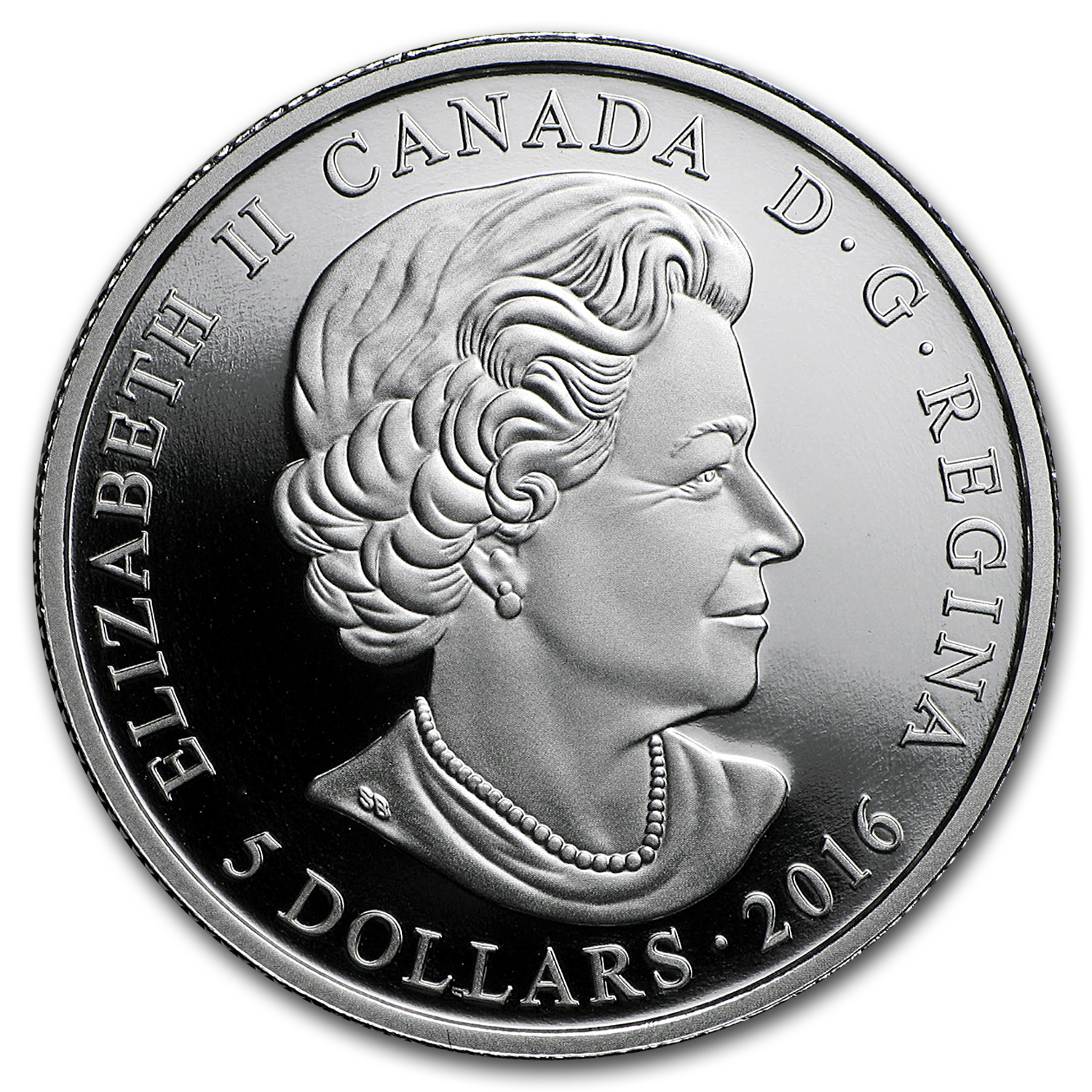 2016 Canada 1/4 oz Silver $5 Birthstones (September)