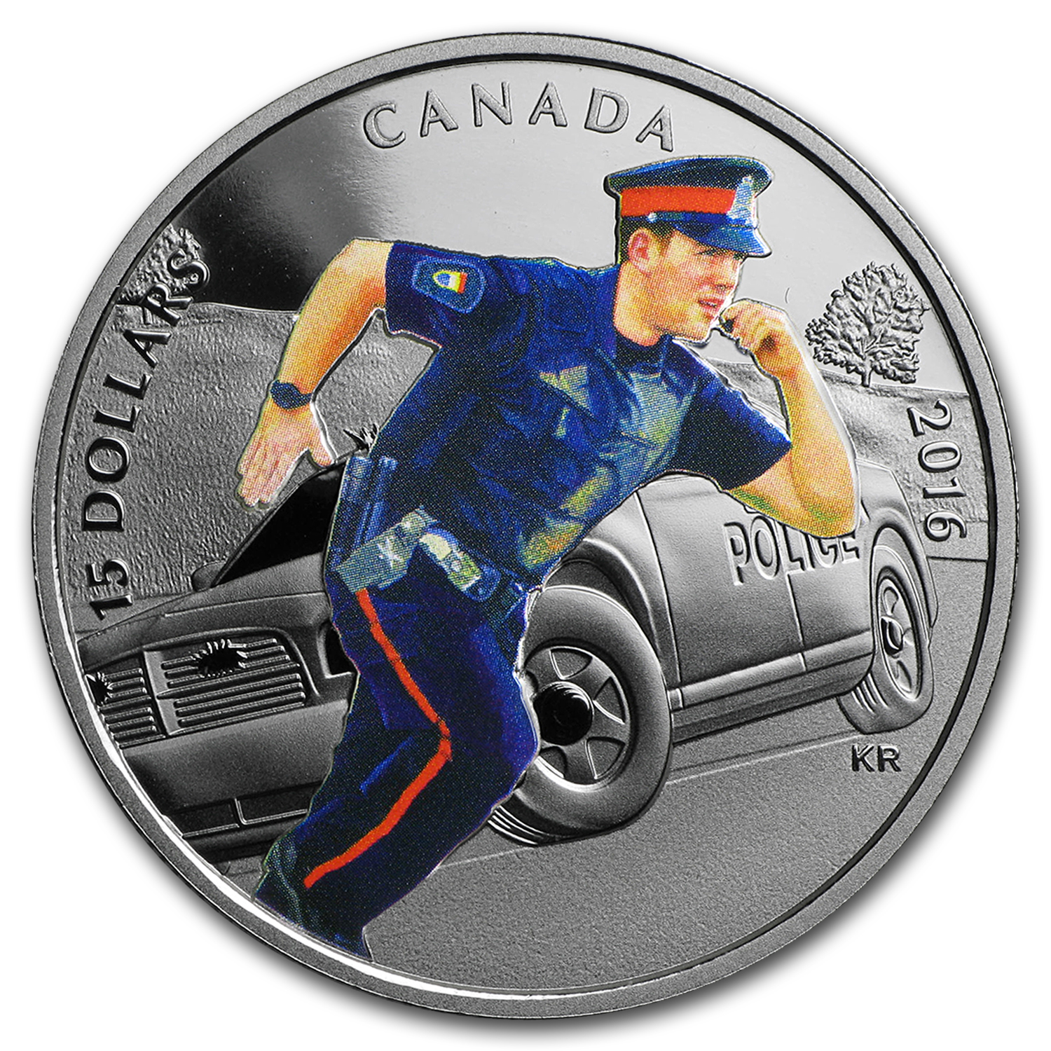 2016 Canada 2/3 oz Silver $15 National Heroes Police