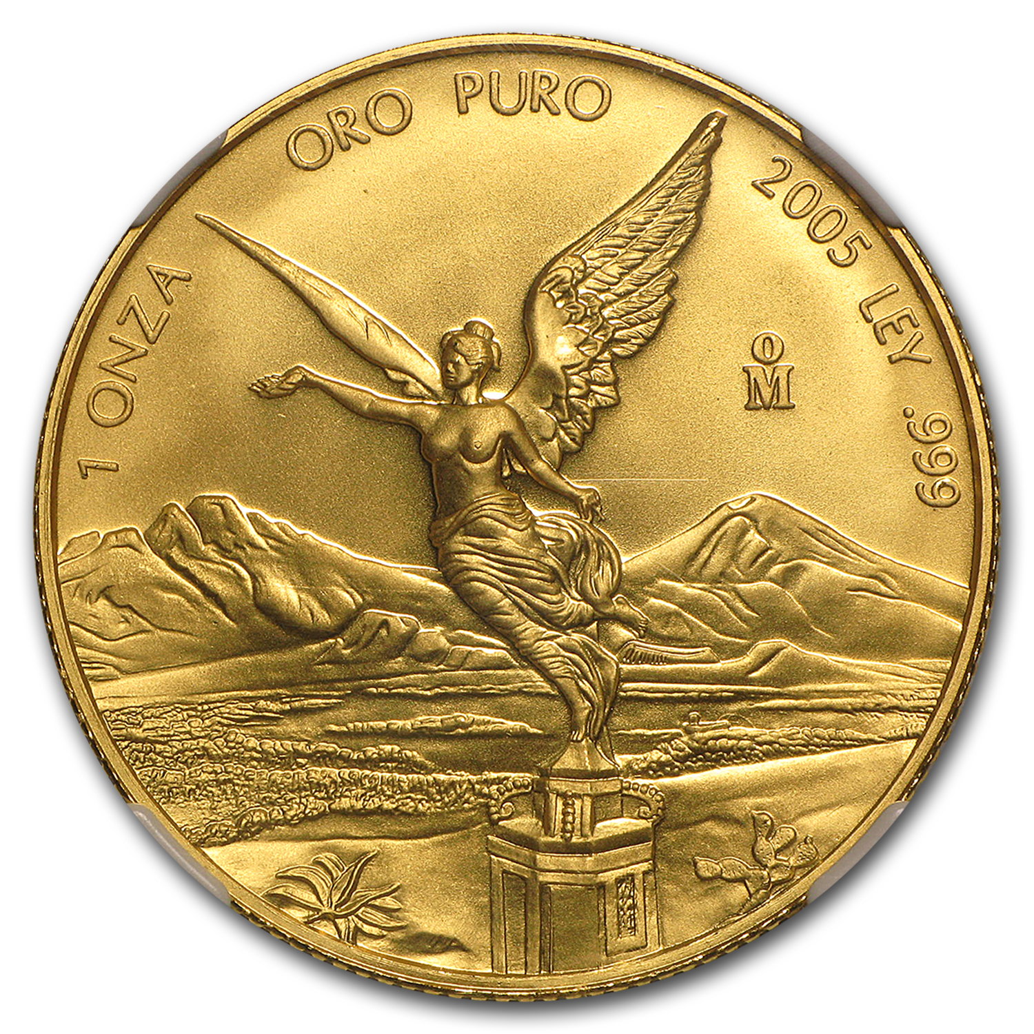 2005 Mexico 1 oz Gold Libertad MS-69 NGC