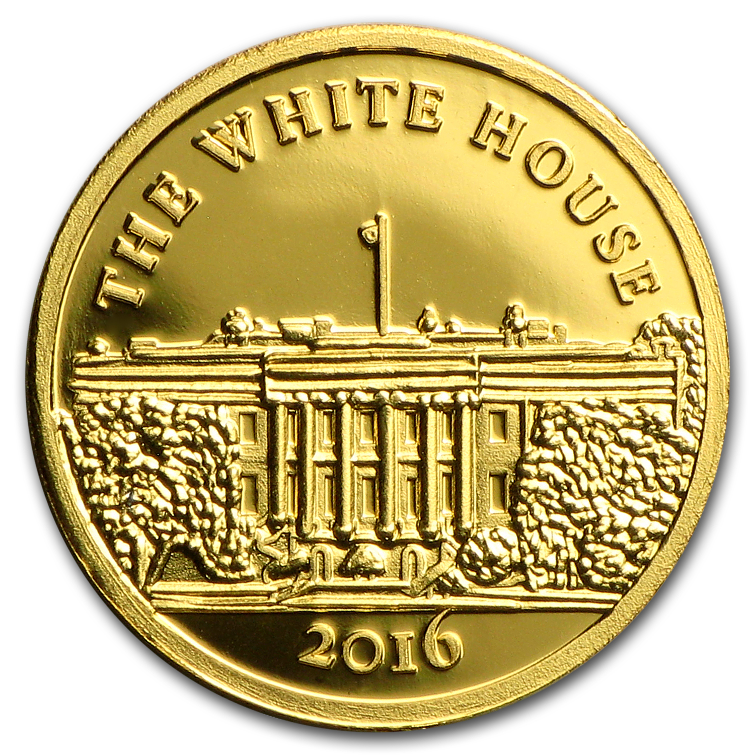 2016 Guinea Gold 100 Francs U.S. White House Proof Coin