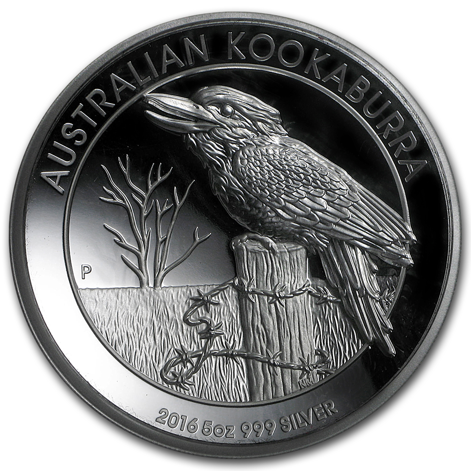 2016 Australia 5 oz Silver Kookaburra Proof (High Relief)