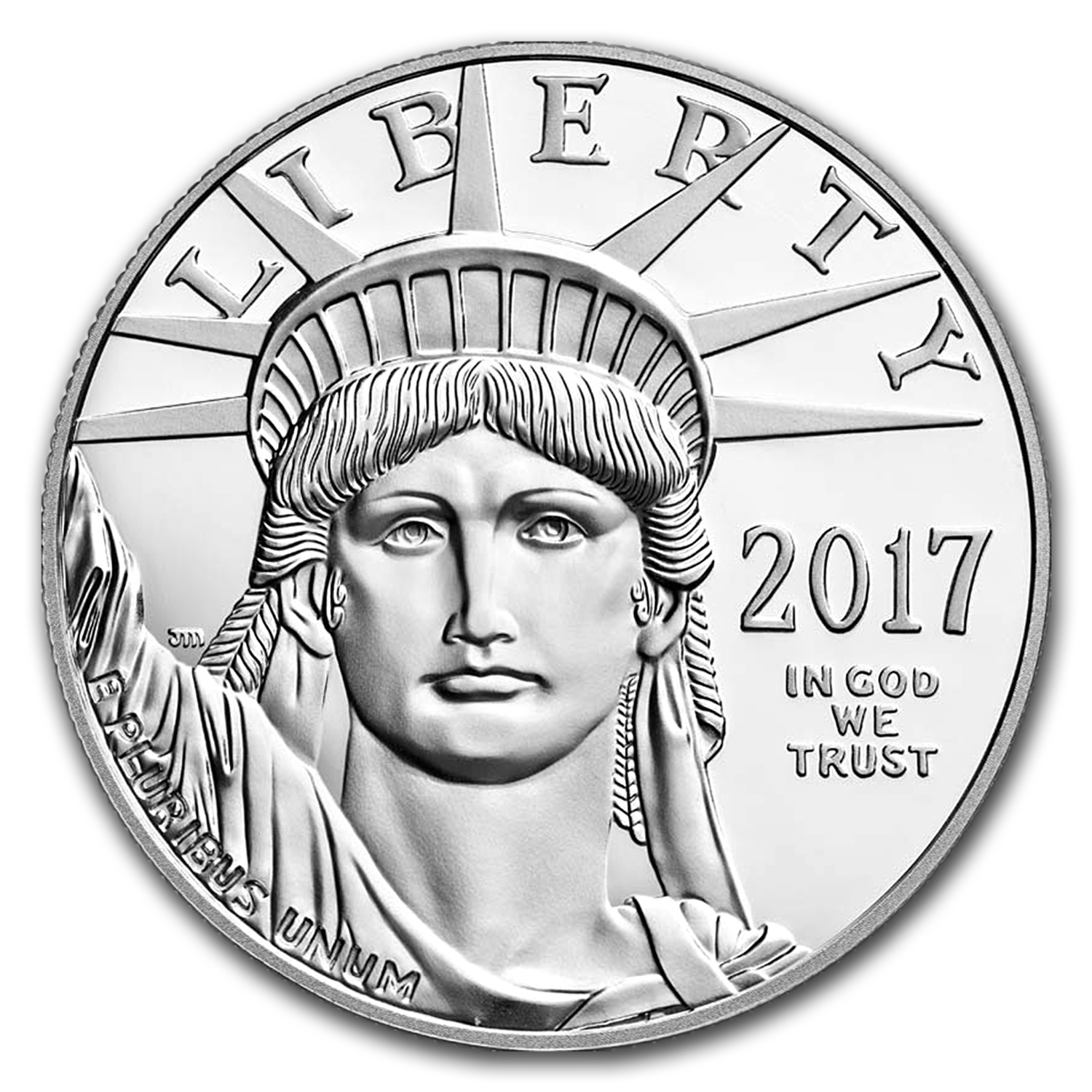2017-W 1 oz Proof Platinum American Eagle (w/Box & COA)