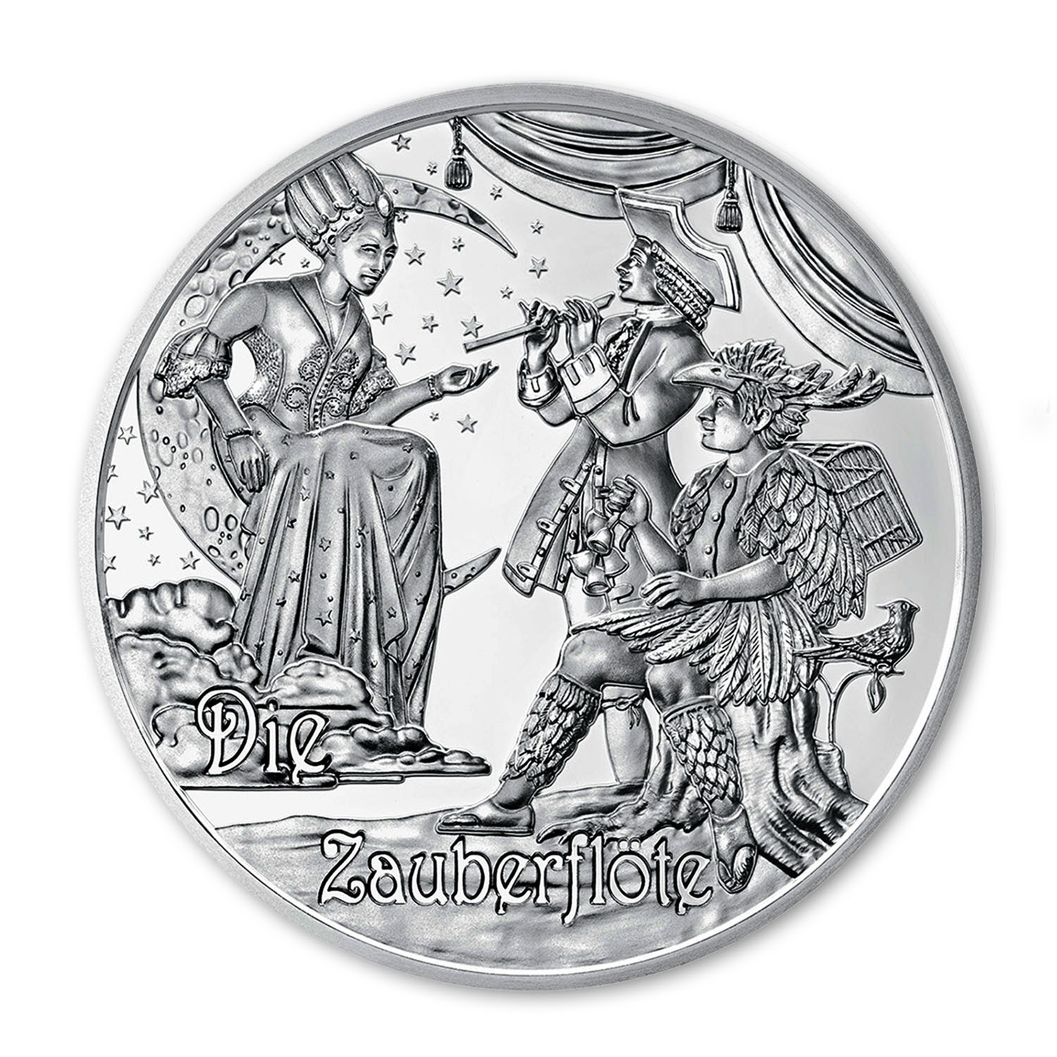 2016 Austria Proof Silver €20 Mozart (The Legend)